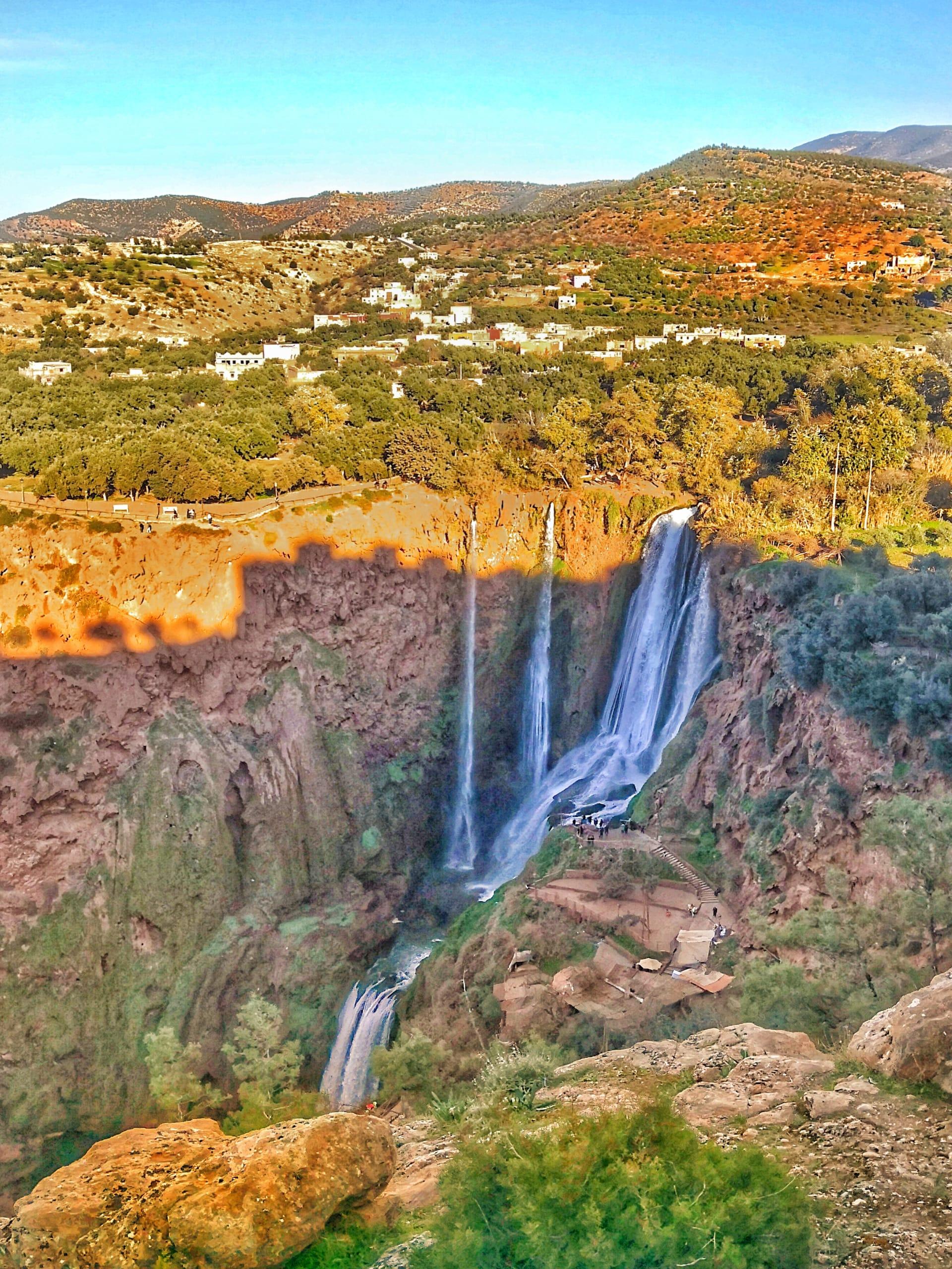 شلالات أوزود في المغرب