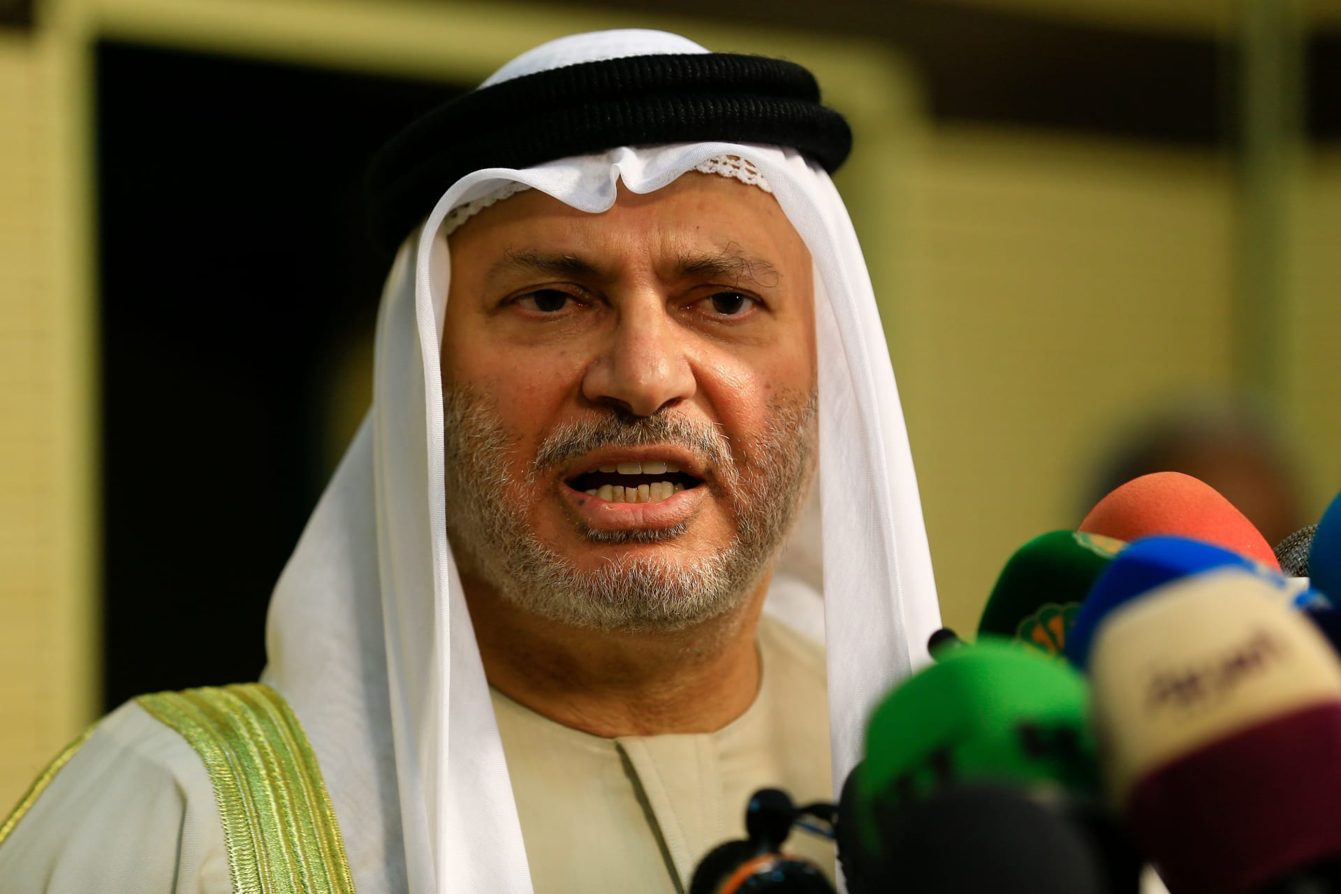 أنور قرقاش المستشار الدبلوماسي لرئيس الإمارات