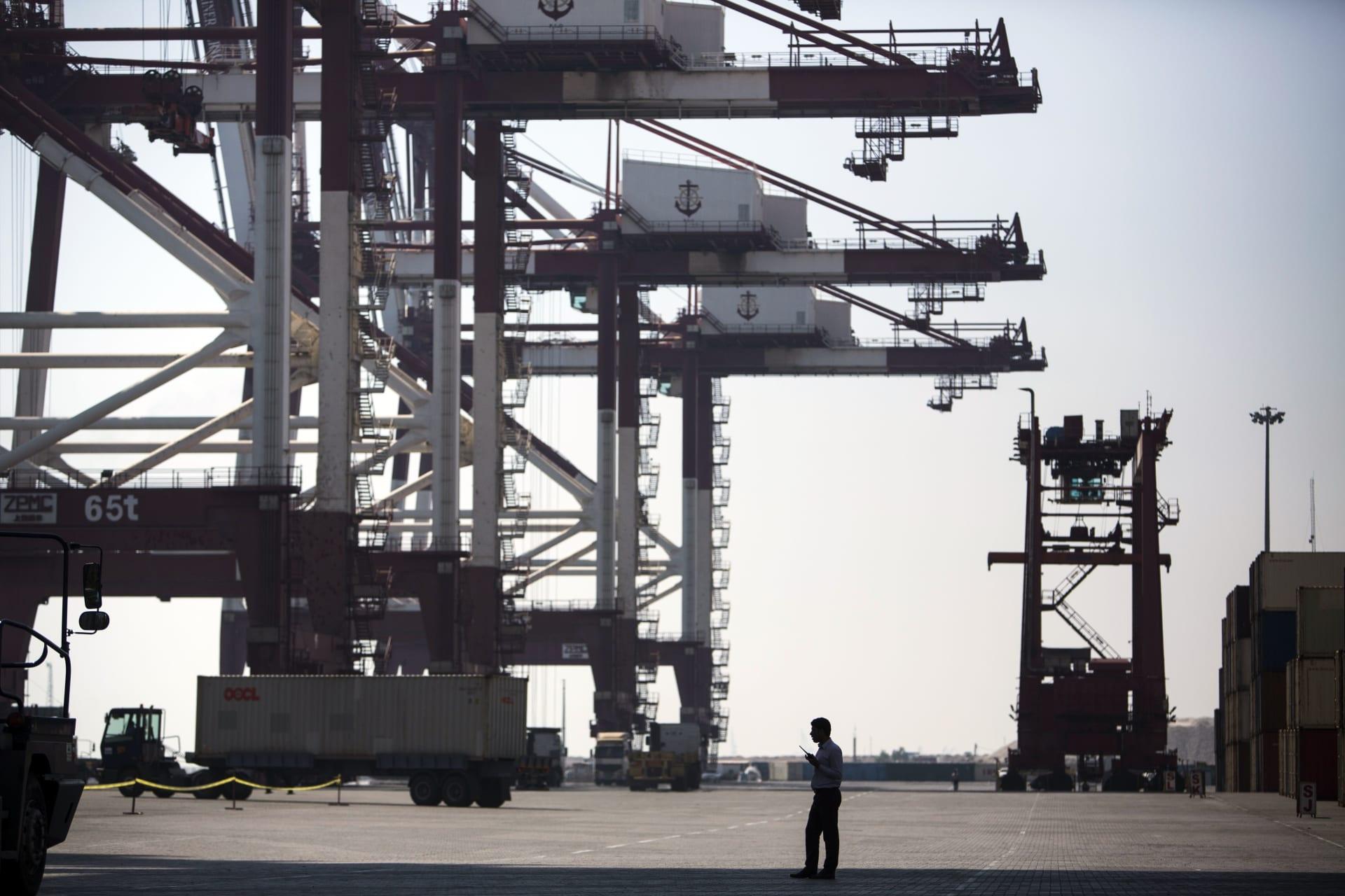 """صورة أرشيفية من ميناء """"الشهيد رجائي"""""""