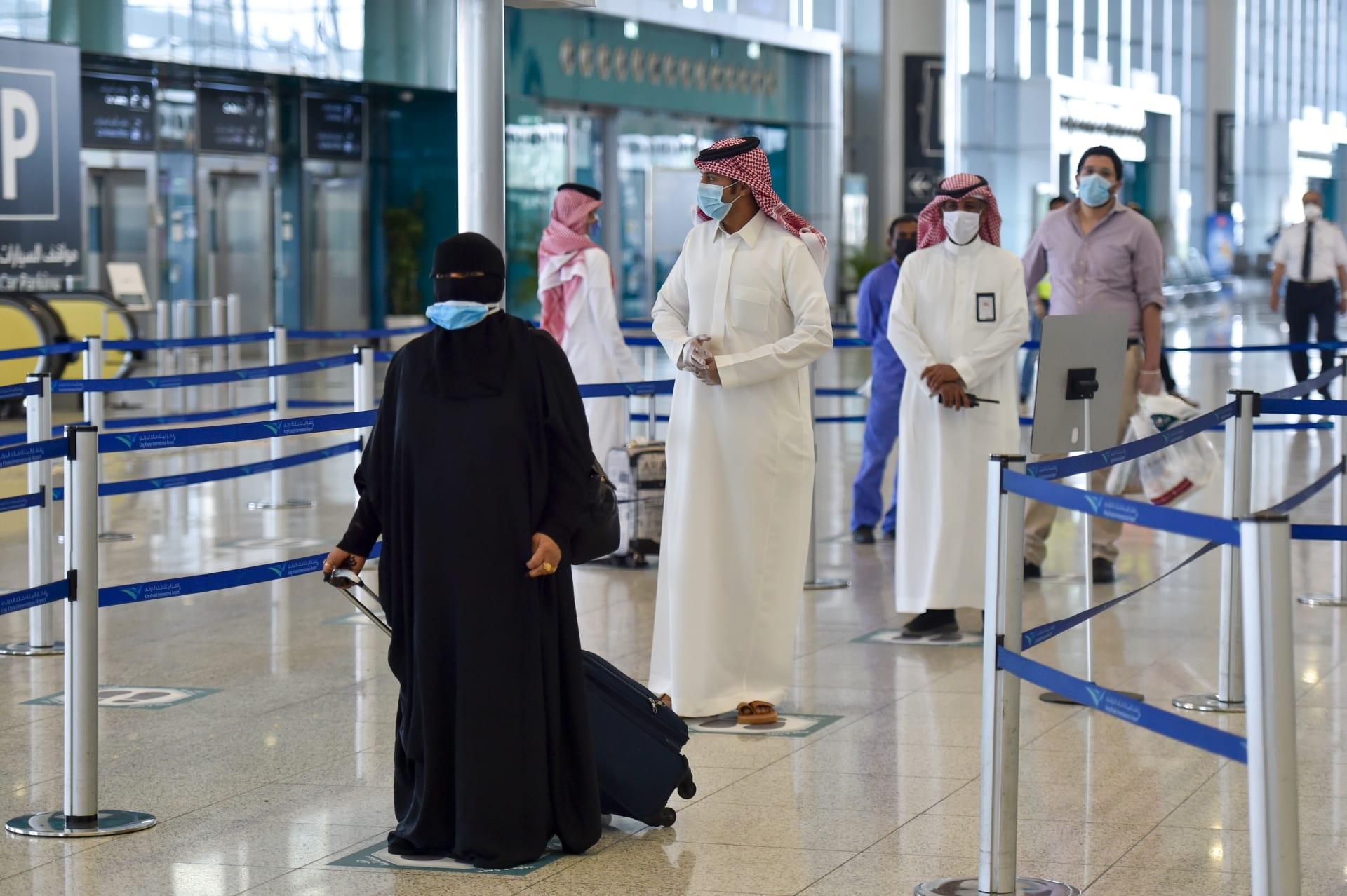 صورة ارشيفية من مطار الملك فهد بالسعودية