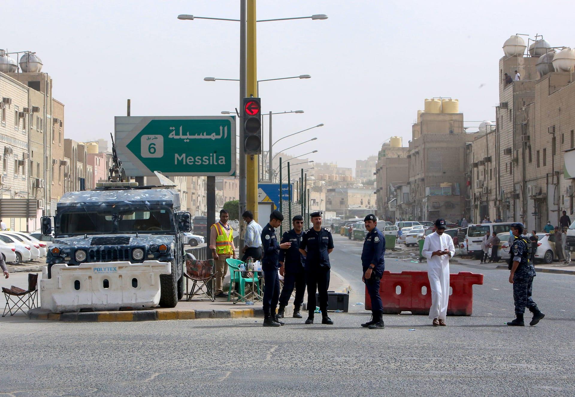 صورة ارشيفية لعناصر بالأمن الكويتي