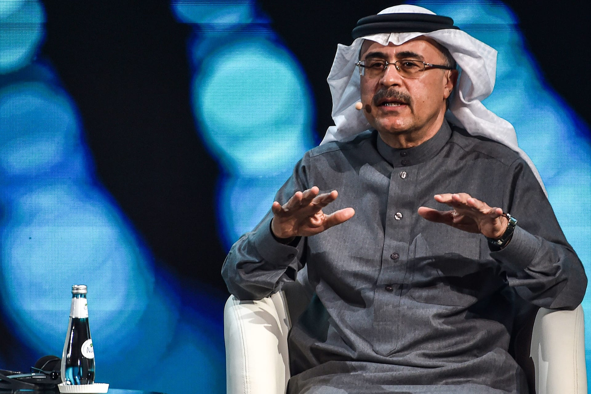 رئيس أرامكو السعودية أمين الناصر