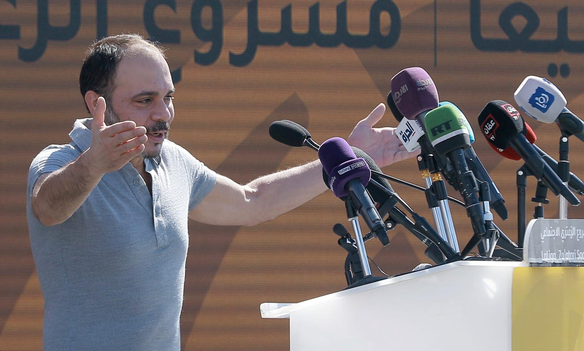 الأمير علي بن الحسين، رئيس اتحاد كرة القدم الأردني