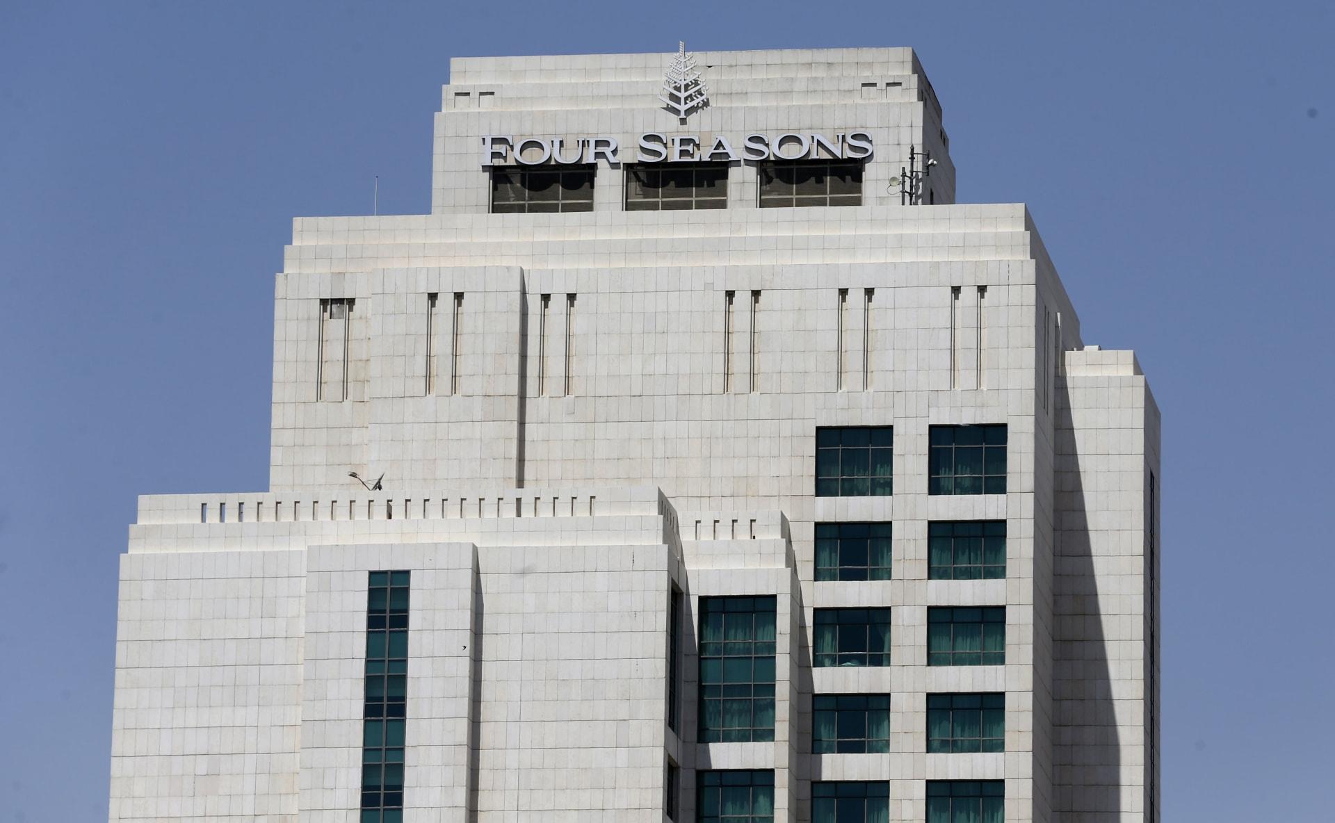 فندق فور سيزونز في العاصمة السورية دمشق - 25 يونيو/ حزيران 2019
