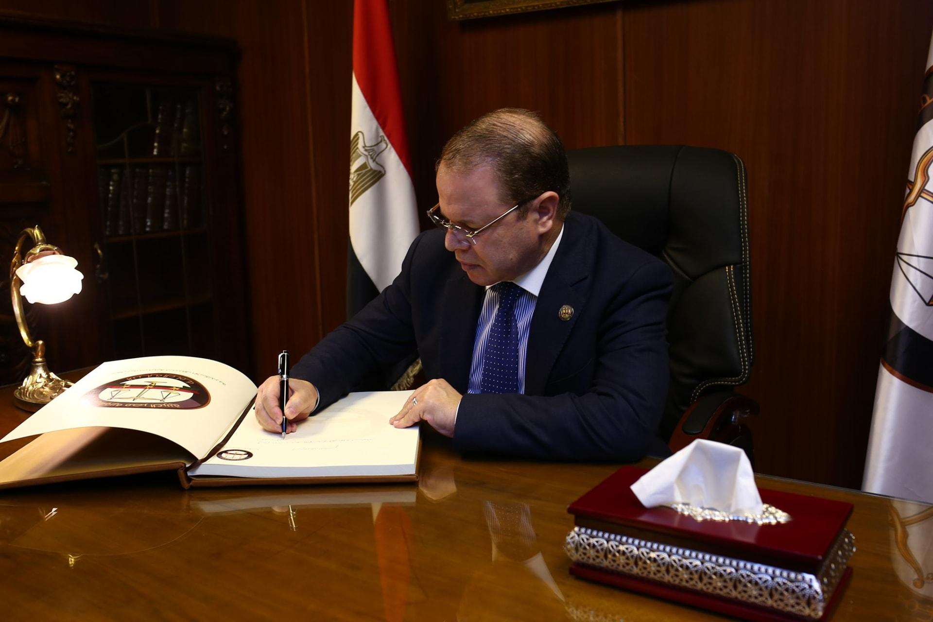 النائب العام المصري المستشار حمادة الصاوي