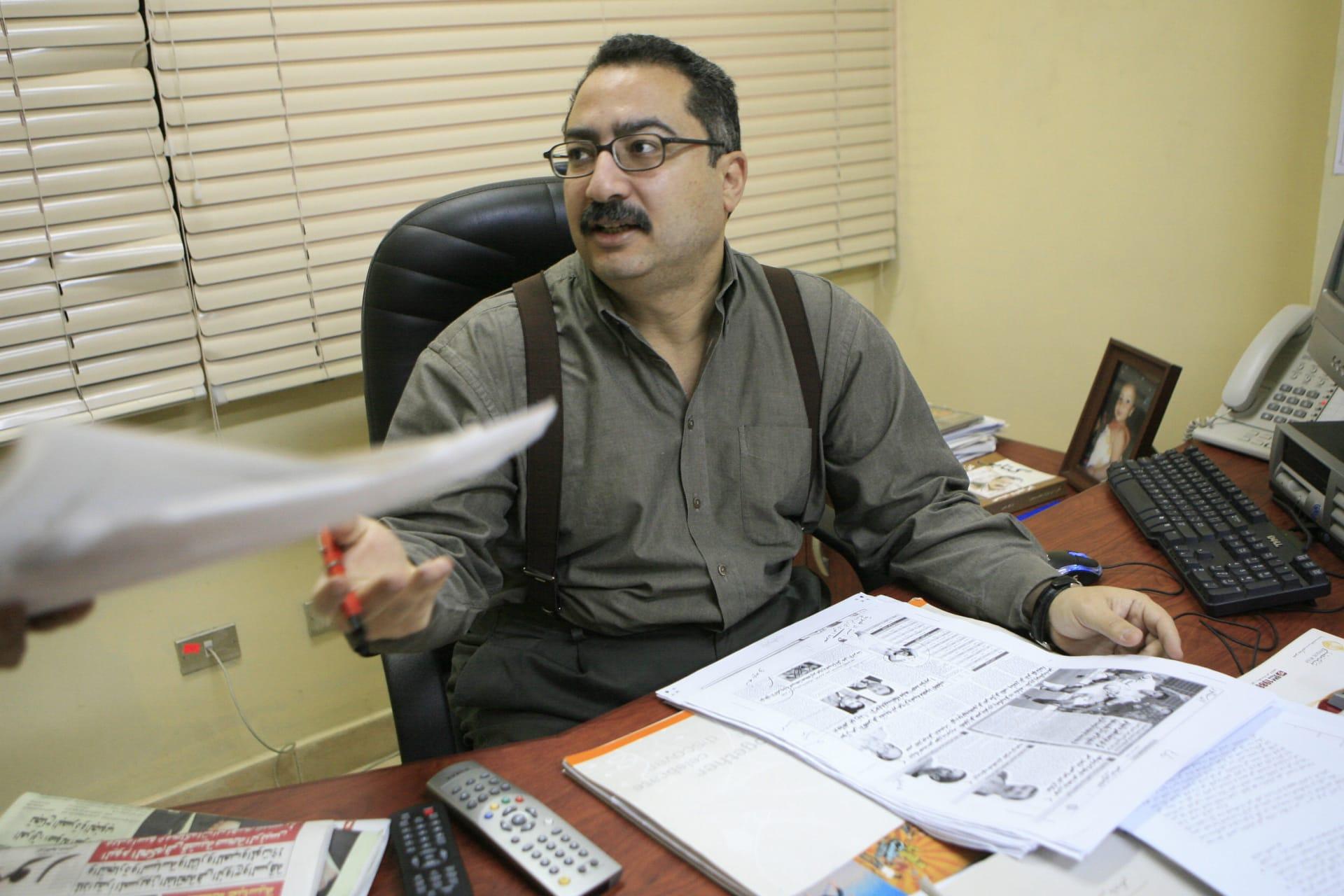 الكاتب الصحفي والإعلامي المصري إبراهيم عيسى