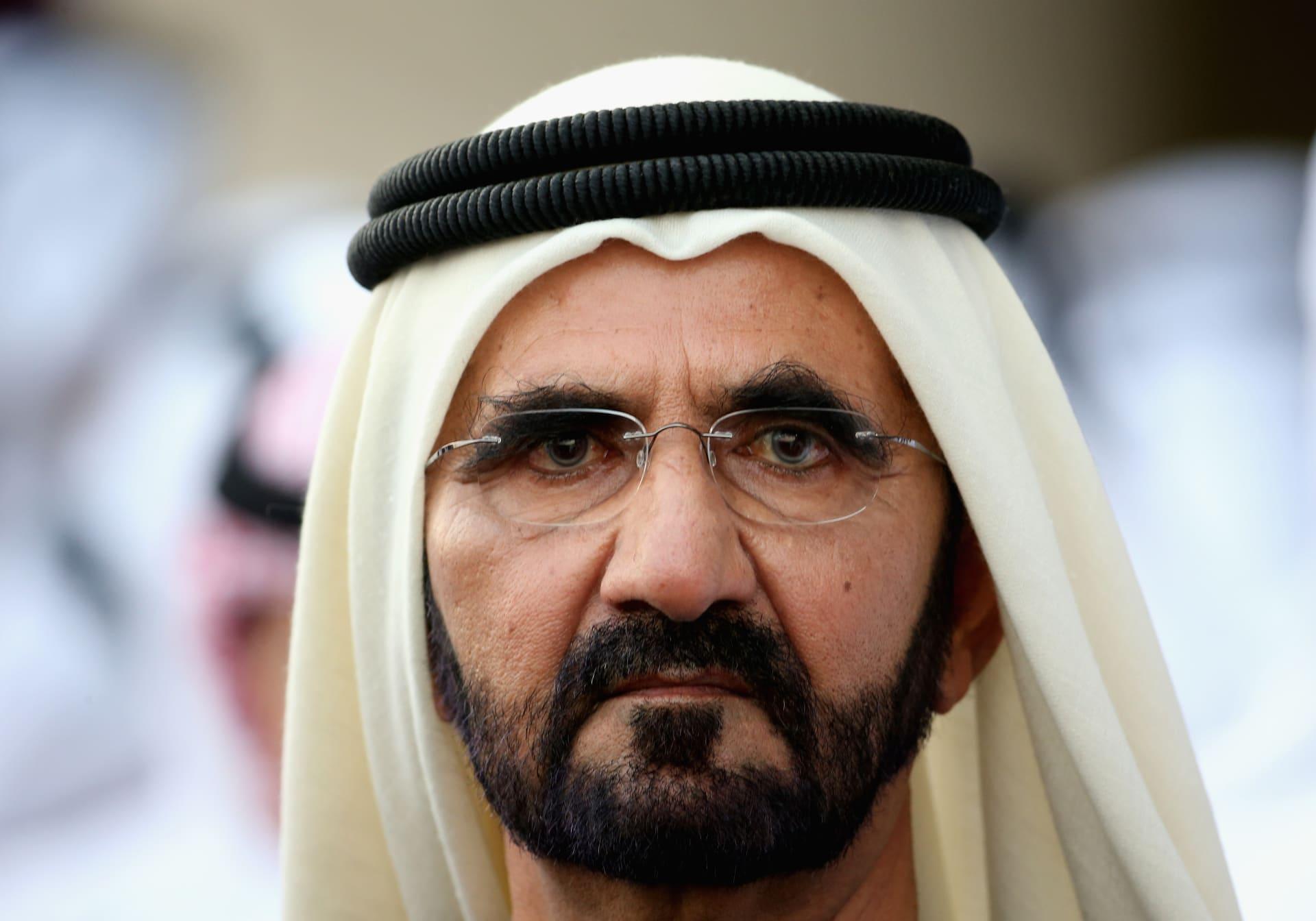 رئيس الوزراء الاماراتي محمد بن راشد آل مكتوم