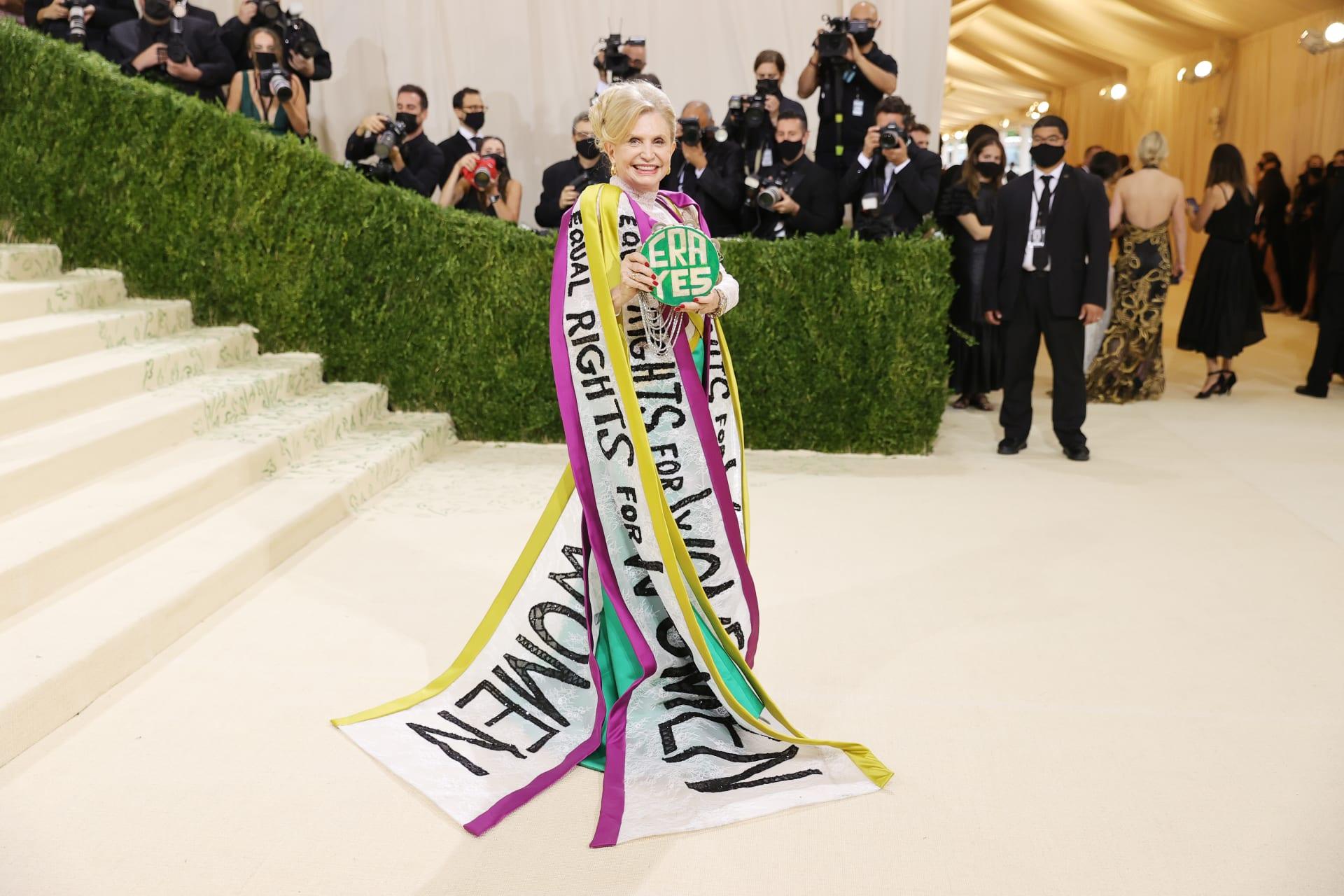 """إليك أبرز إطلالات المشاهير في حفل """"ميت غالا"""" لعام 2021 في نيويورك"""