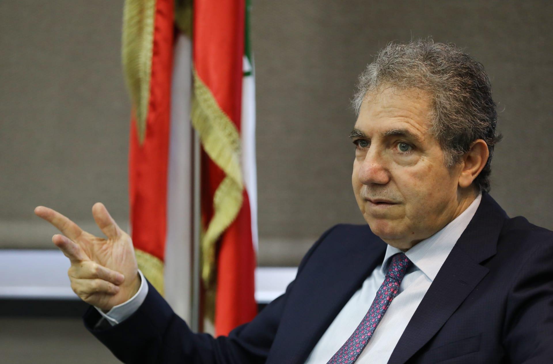 وزير المالية السابق غازي وزني