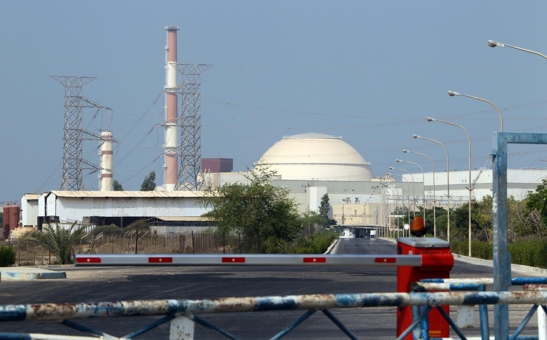 المفاعل في محطة بوشهر للطاقة النووية في جنوب إيران - 20 أغسطس 2010