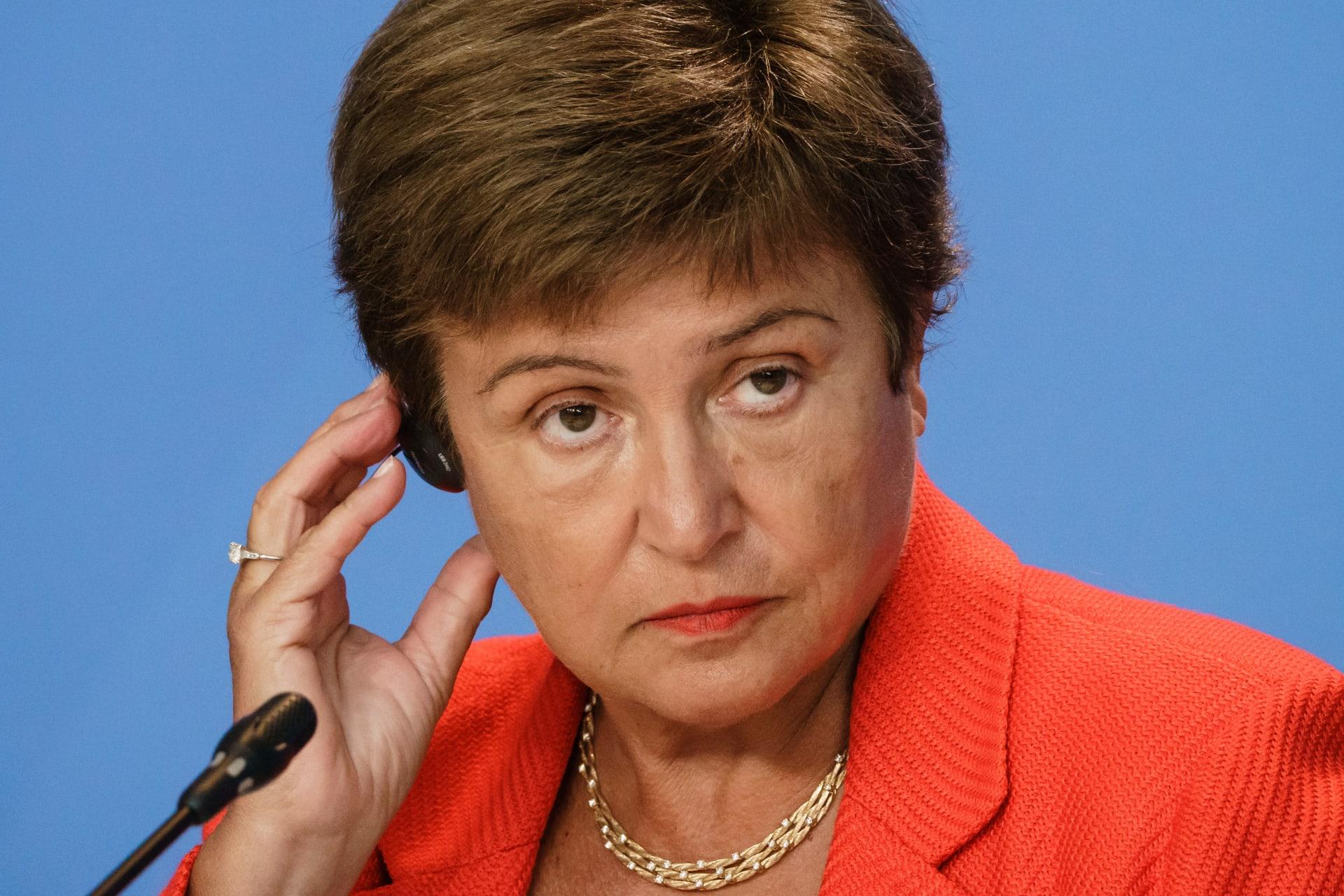المديرة العامة لصندوق النقد الدولي، كريستالينا جورجيفا