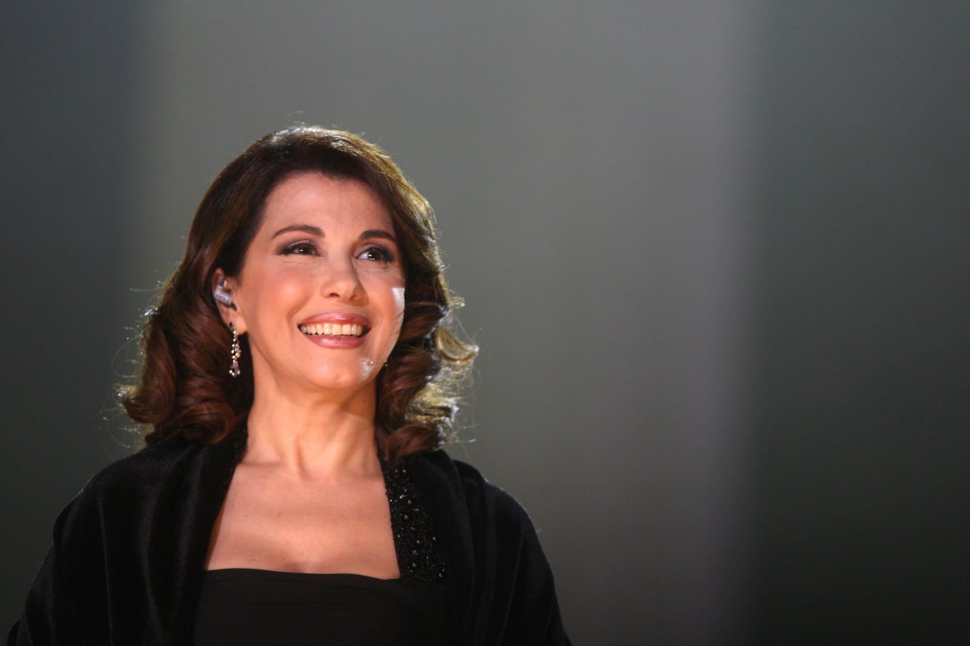 الفنّانة اللبنانية ماجدة الرومي