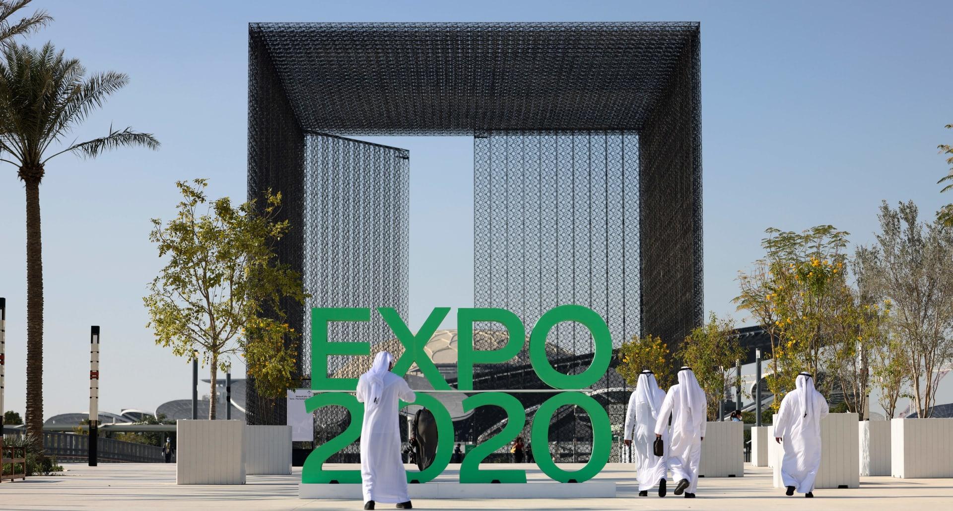 شاهد فيديو بتقنية الفاصل الزمني لمعرض إكسبو 2020 من سماء دبي