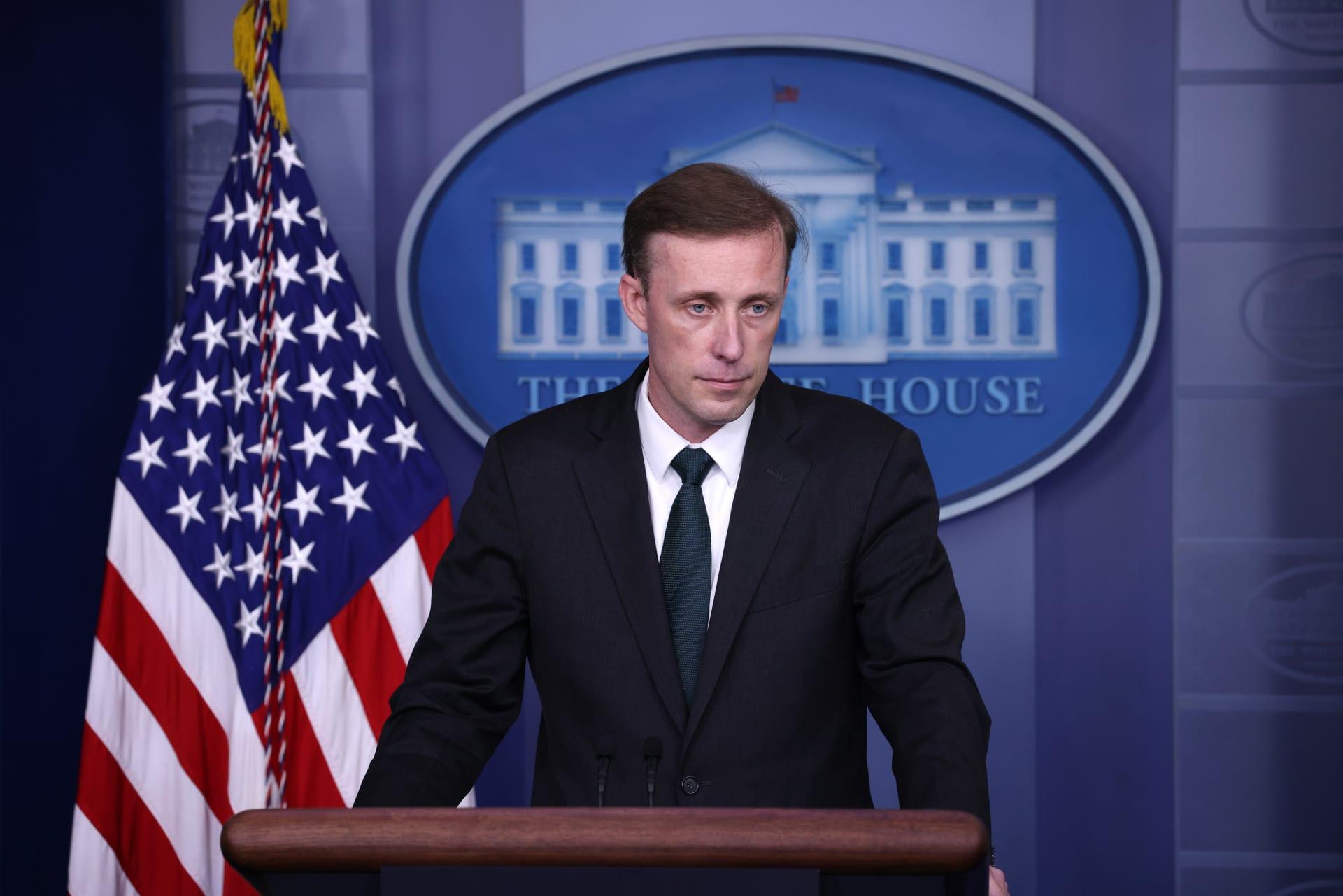 مستشار الأمن القومي الأمريكي جيك سوليفان