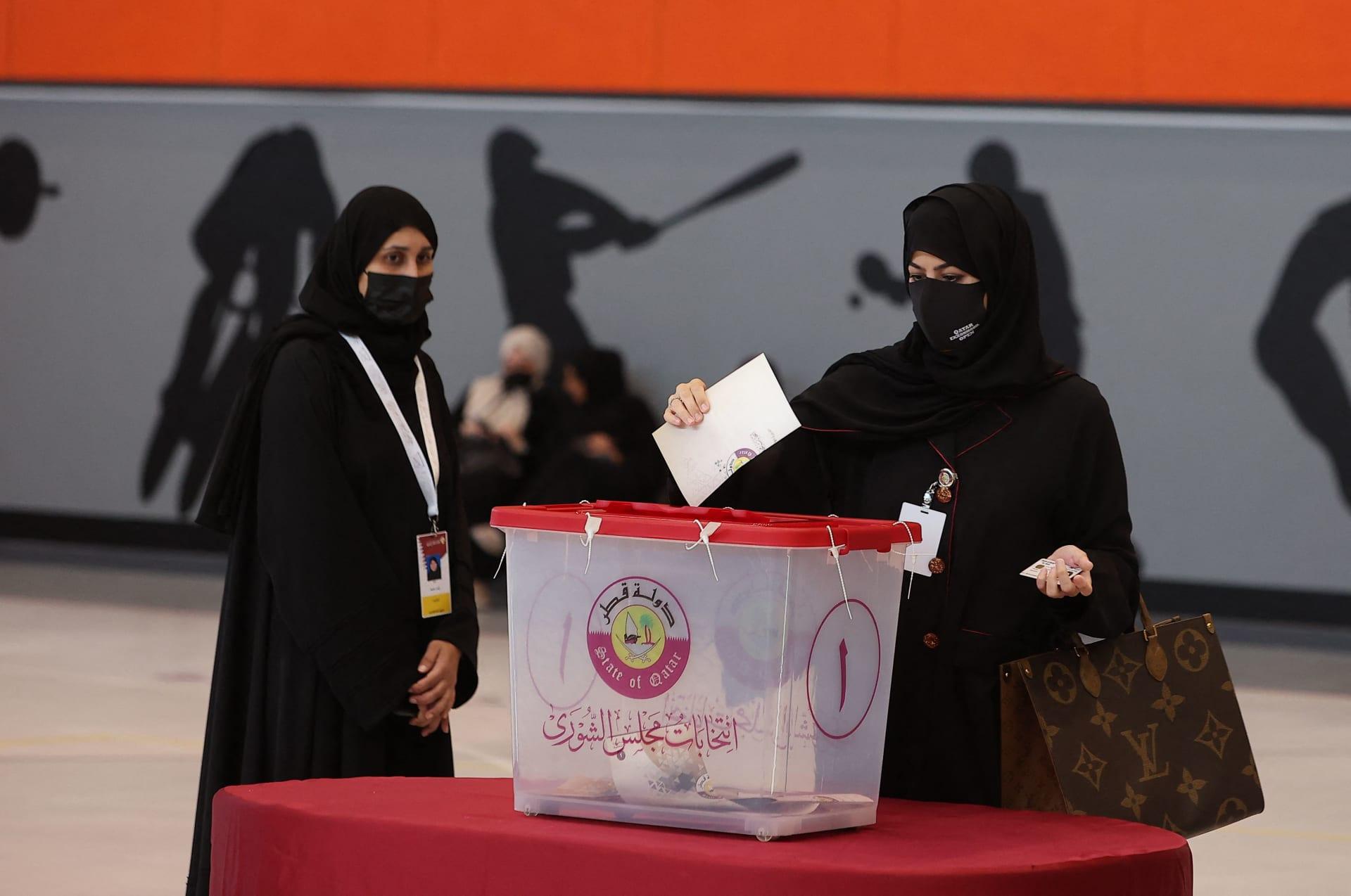 """قطر تنتخب """"ثلثي أعضاء"""" مجلس الشورى للمرة الأولى"""