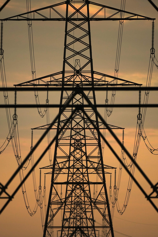 ابراج كهربائية في انكلترا