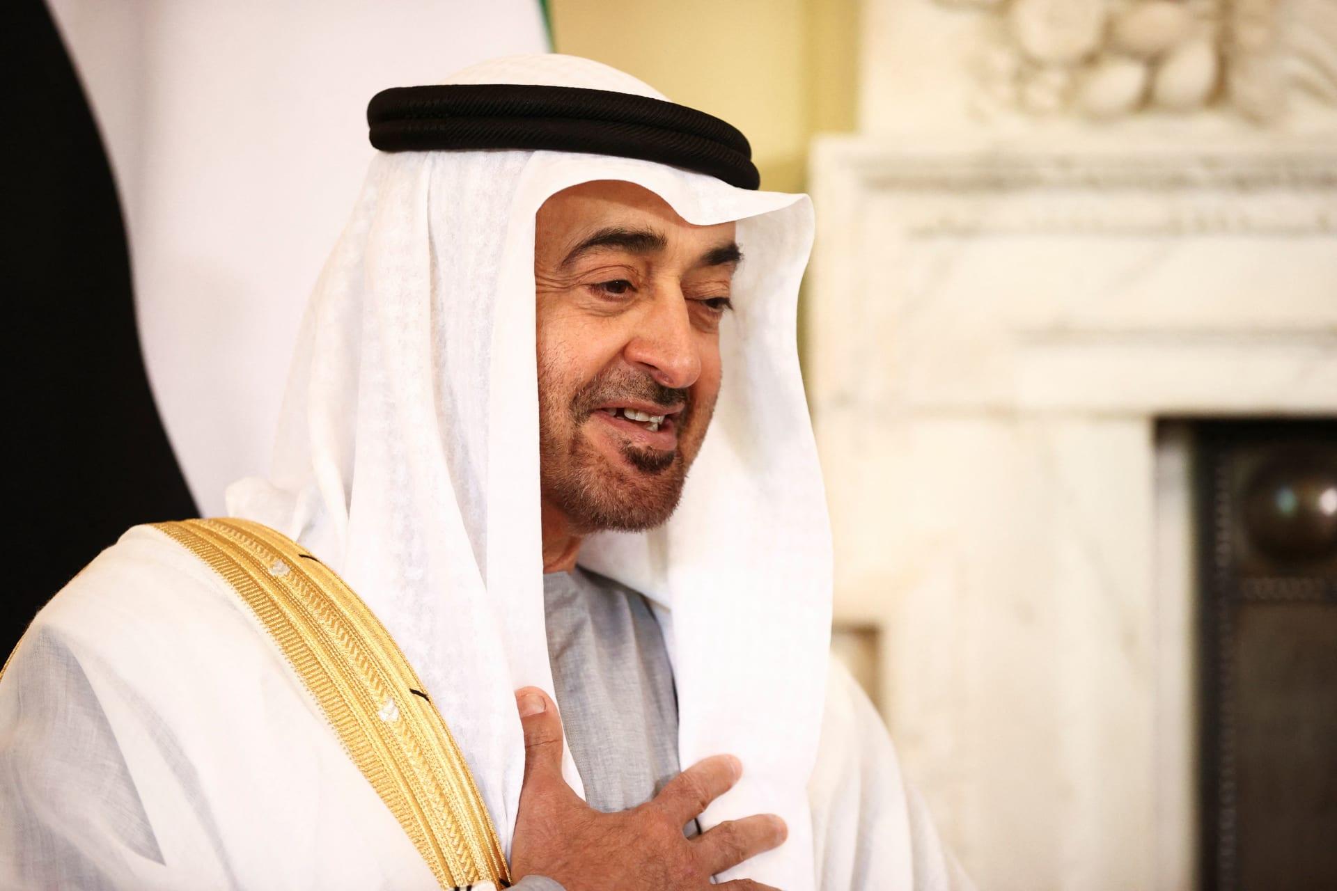 الشيخ محمد بن زايد، ولي عهد أبوظبي نائب القائد الأعلى للقوات المسلحة