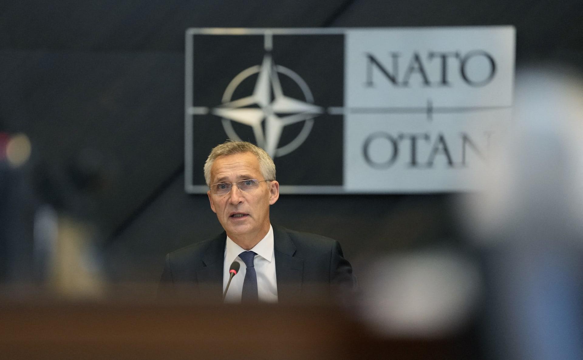 الأمين العام لحلف الناتو، ينس ستولتنبرغ