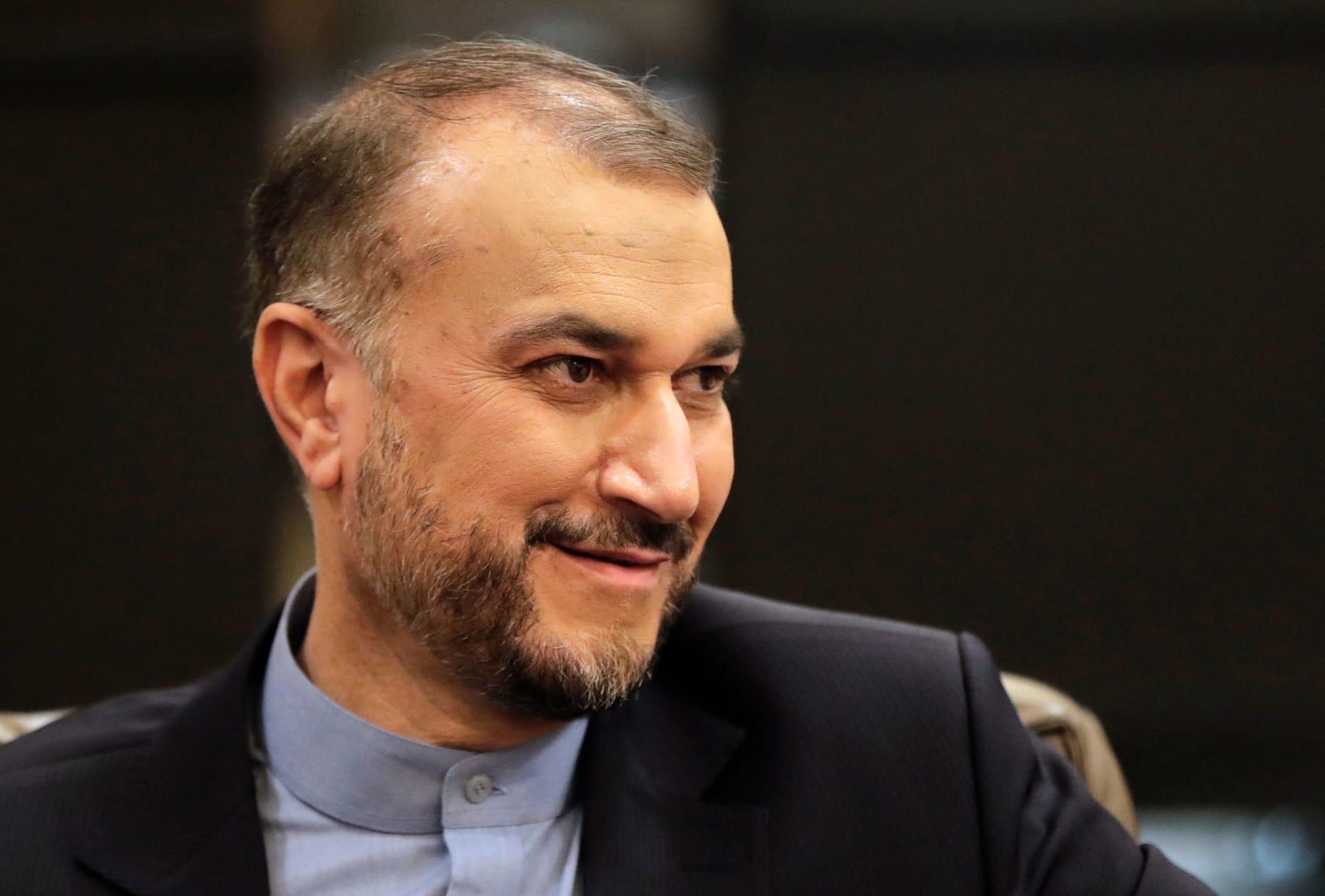 وزير الخارجية الإيراني، أمير عبداللهيان
