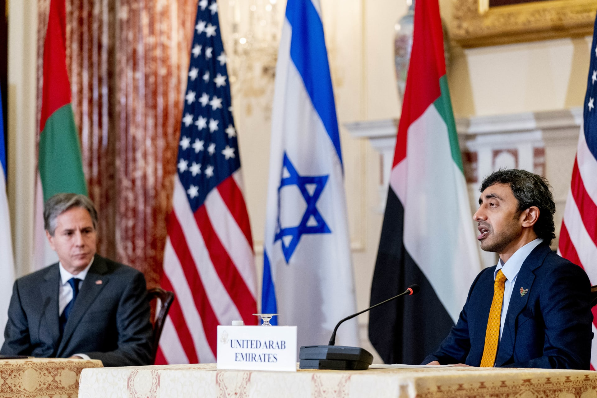 وزير الخارجية الإماراتي، الشيخ عبدالله بن زايد