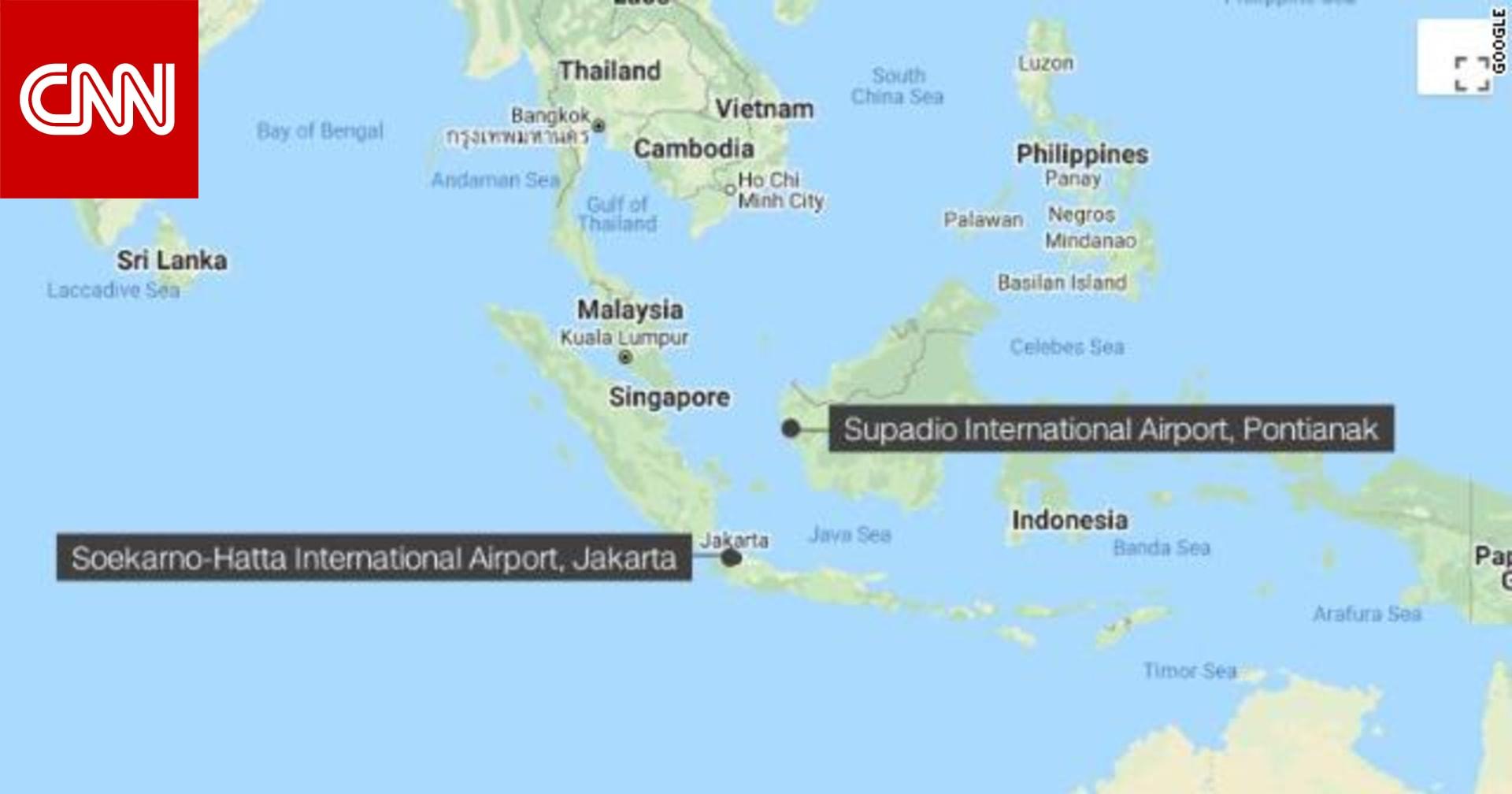 طائرة إندونيسيا المنكوبة سقطت بعد أقل من دقيقة من إقلاعها.. وعلى متنها 62 شخصاً