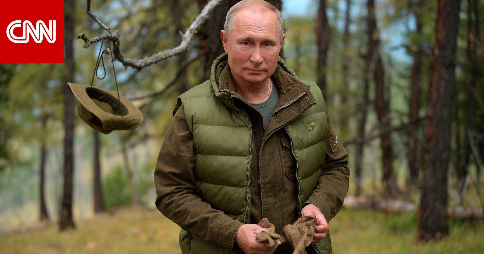 بوتين يتنزه في سيبيريا قبل عيد ميلاده الـ67