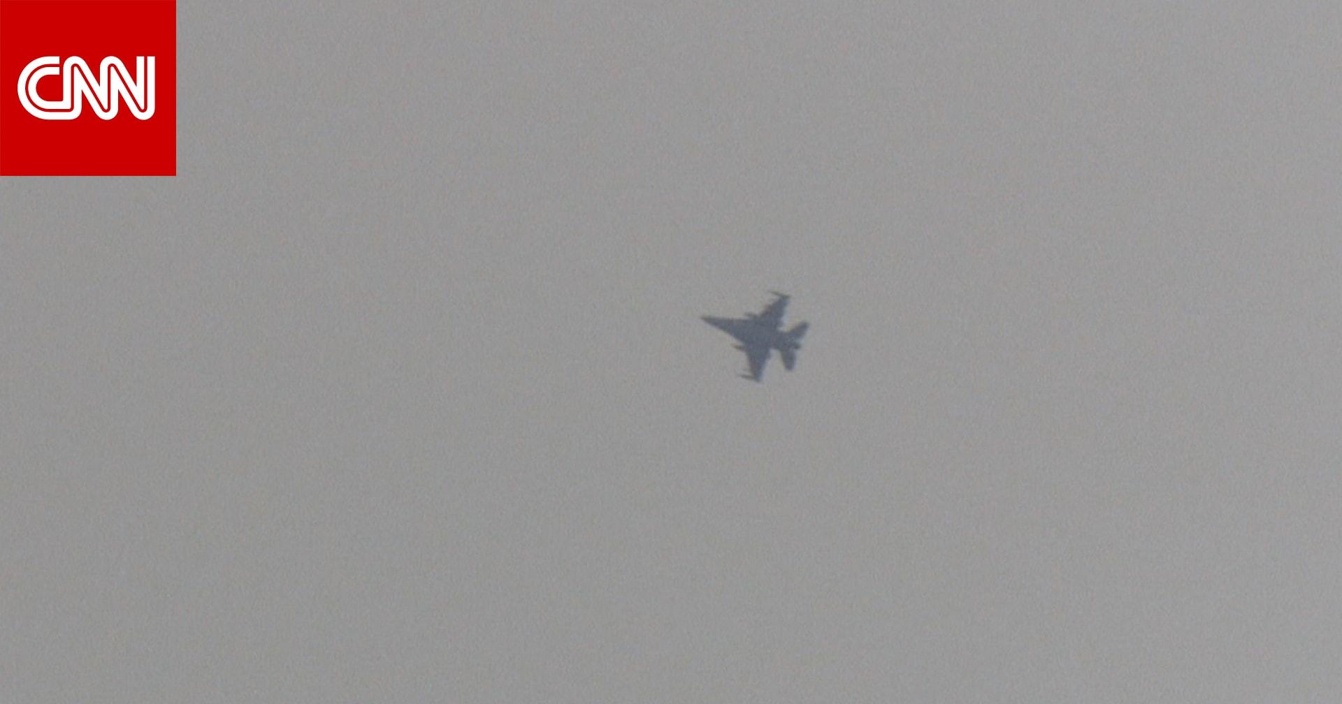 شاهد.. مقاتلات تركية تقصف مواقع كردية في سوريا