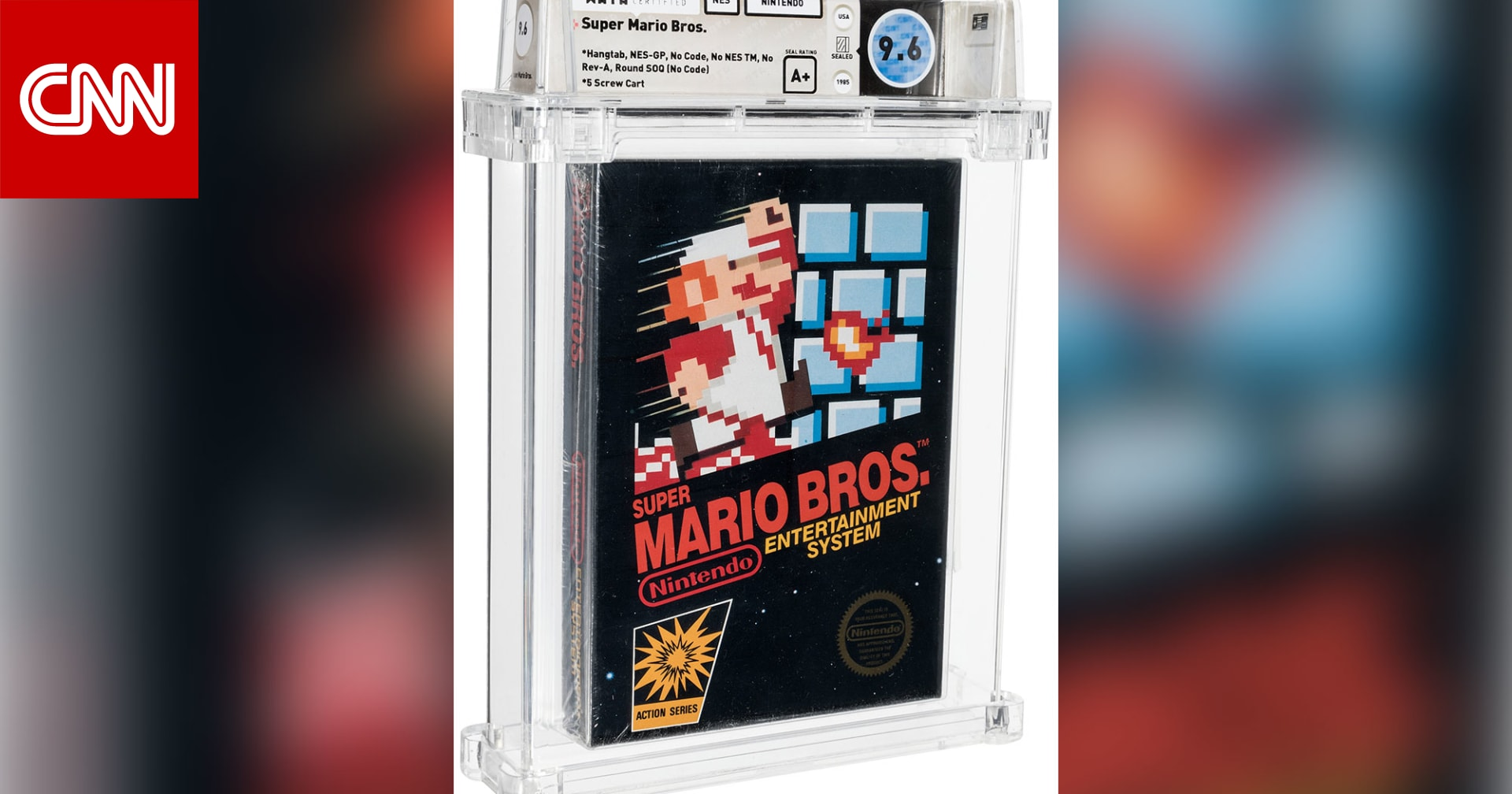 """الأغلى على الإطلاق.. لعبة فيديو نادرة من """"سوبر ماريو"""" تباع بـ660 ألف دولار"""