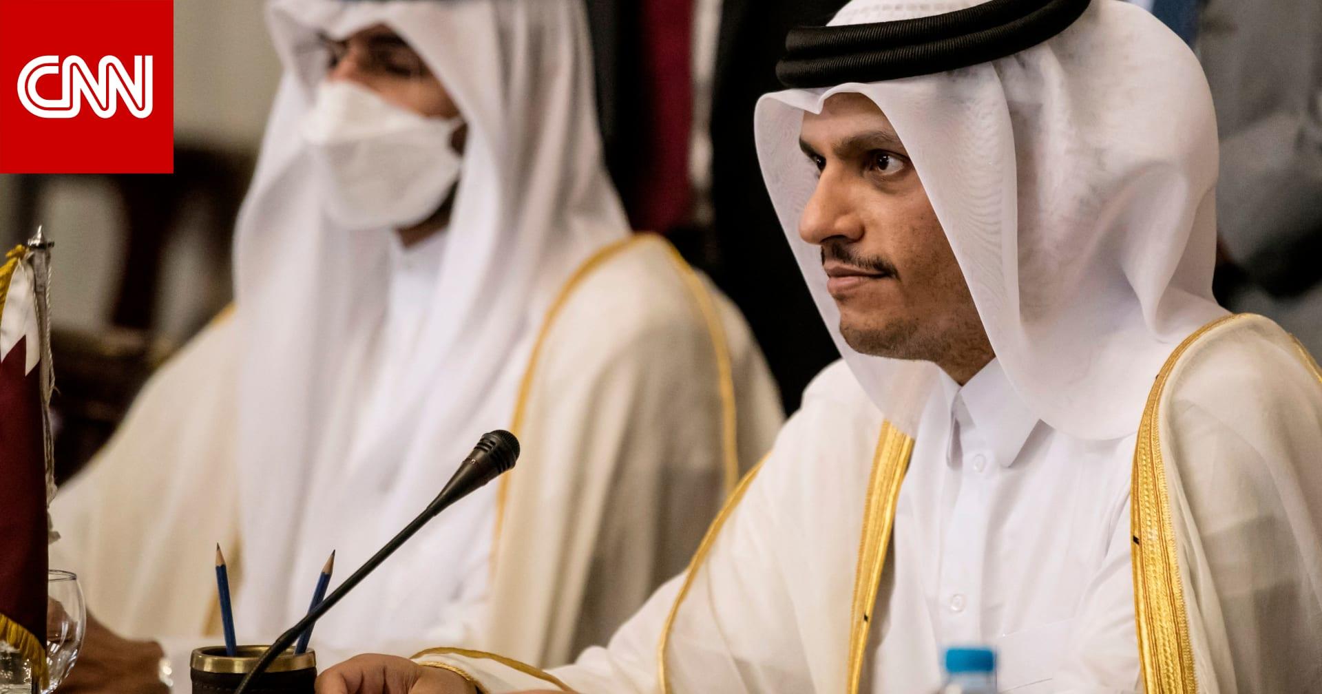 وزير الخارجية القطري: مستعدون للمساعدة في حل أزمات لبنان.. وعون يرحب