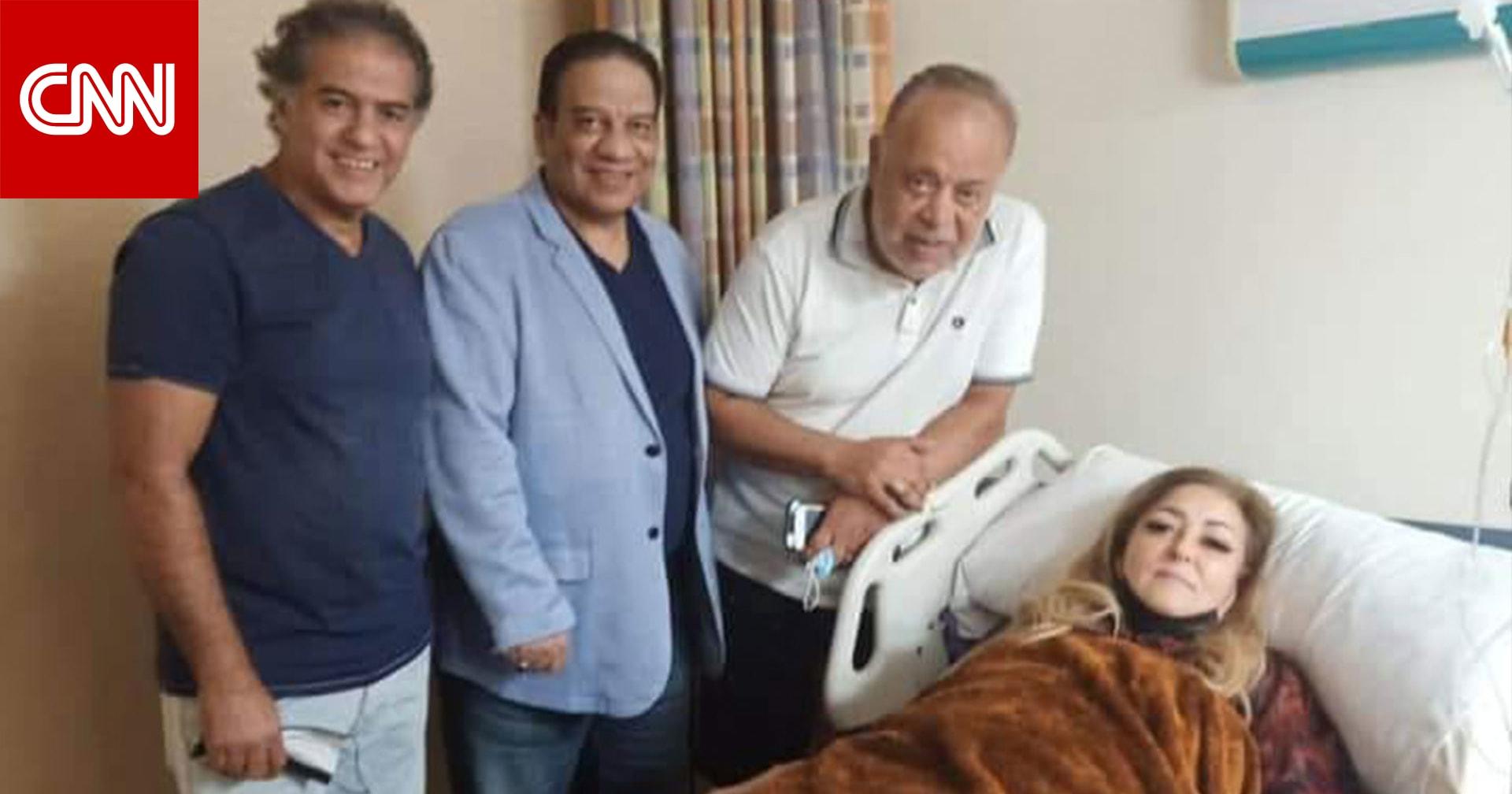 """نهال عنبر في المستشفى بعد حادث بـ""""زقاق المدق"""""""