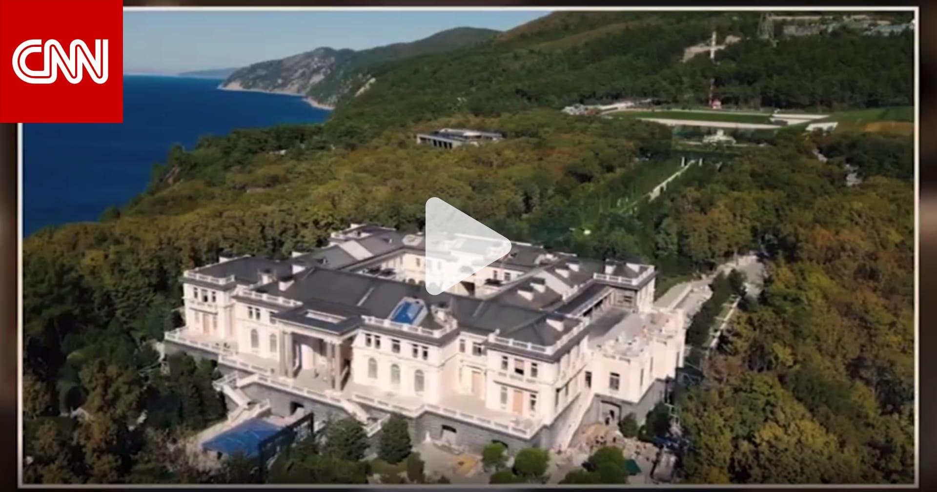 معارض روسي يصور سراً قصرا ضخماً يقول إنه لبوتين.. ما قصته؟