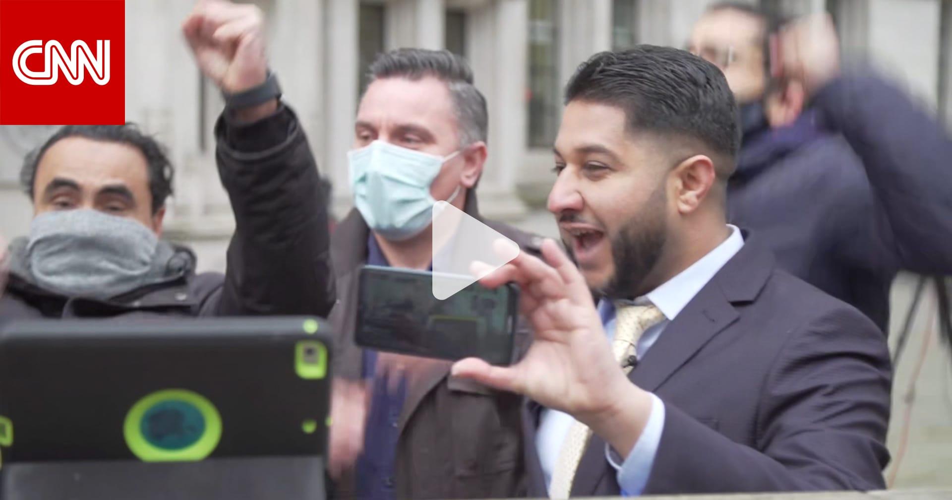 شاهد ردود فعل سائقي أوبر لحظة حكم المحكمة العليا في بريطانيا لصالحهم