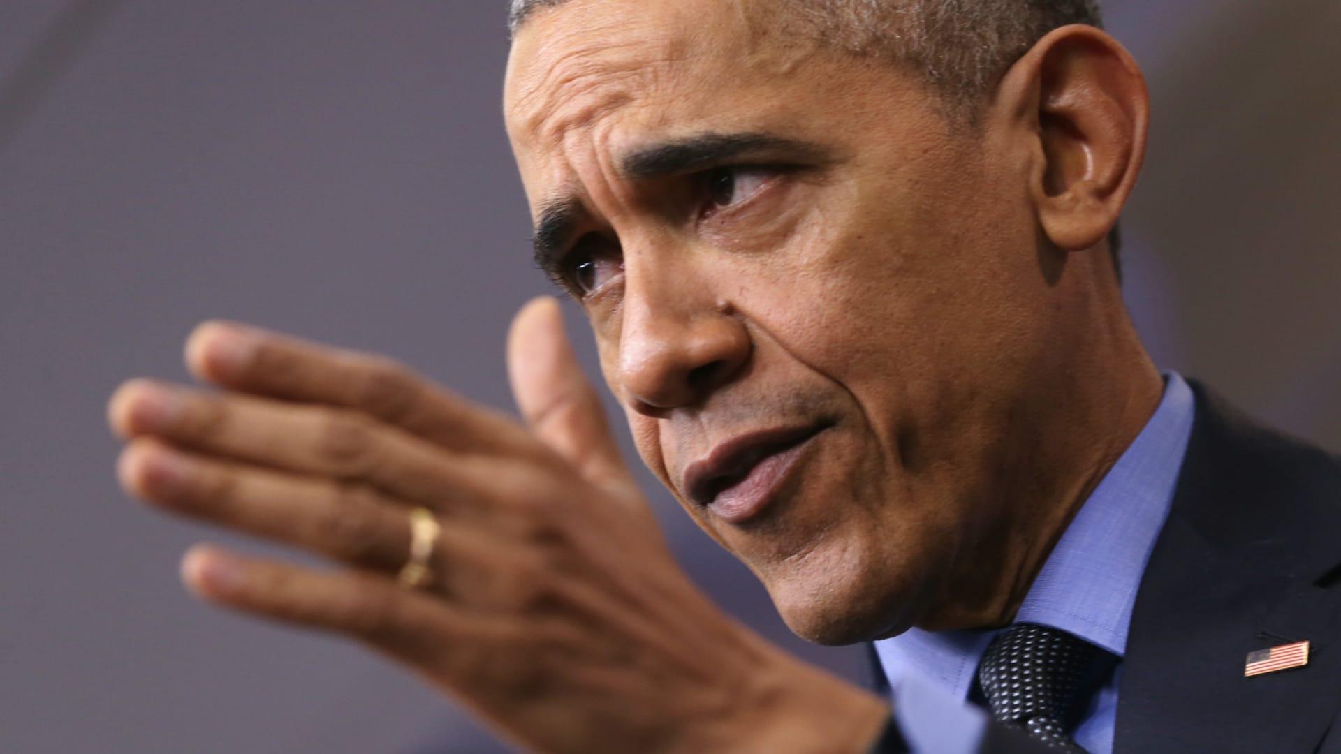 ترامب يهاجم أوباما بشأن لاجئي سوريا: ربما ينتمون لداعش