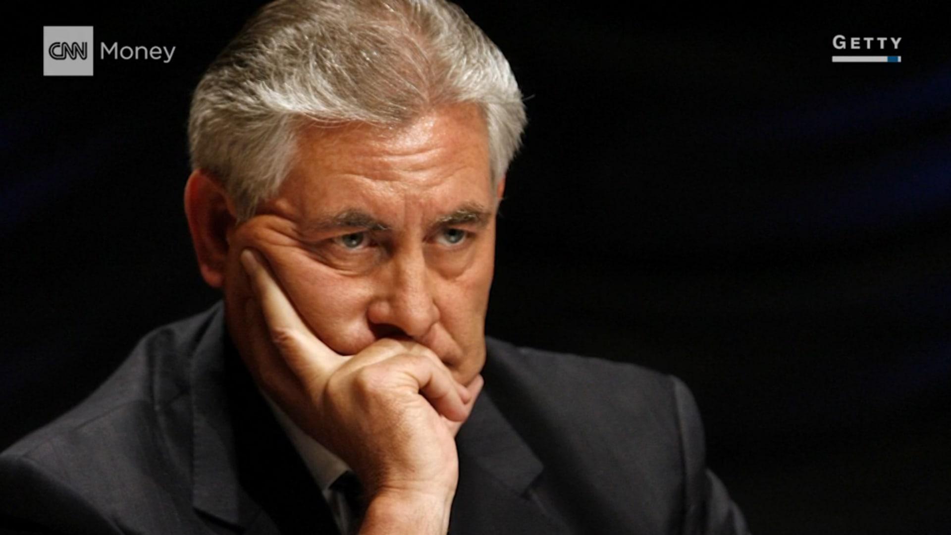 من هو تيليرسون؟ المرشح الأبرز لوزارة الخارجية الأمريكية
