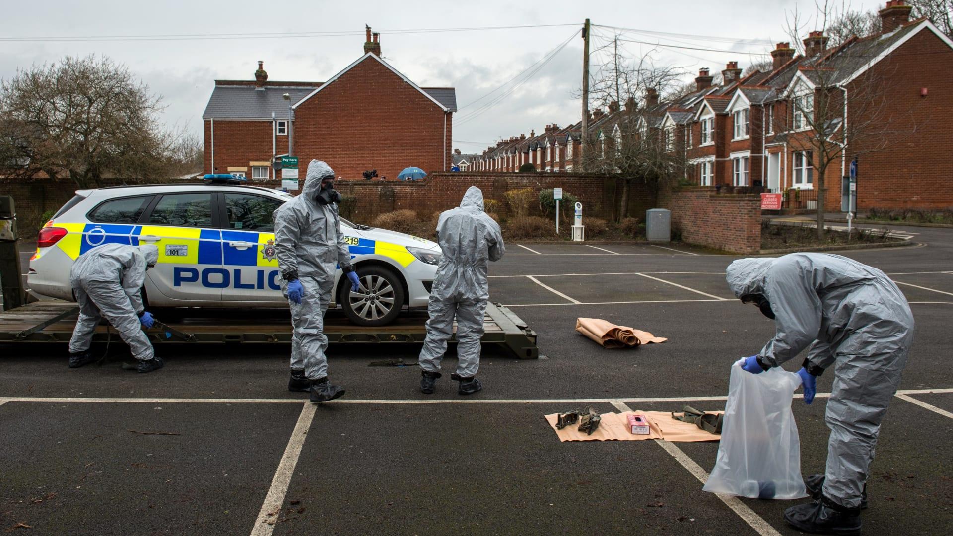 بريطانيا تكشف: الجاسوس الروسي تعرض لمحاولة قتل عمد بغاز أعصاب