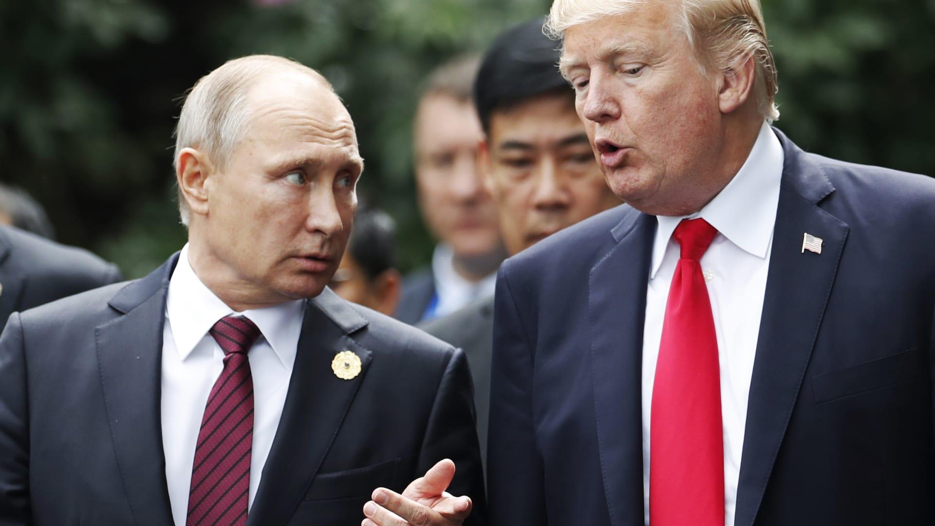 شاهد.. ترامب لروسيا: استعدوا للصواريخ التي توعدتم باعتراضها في سوريا