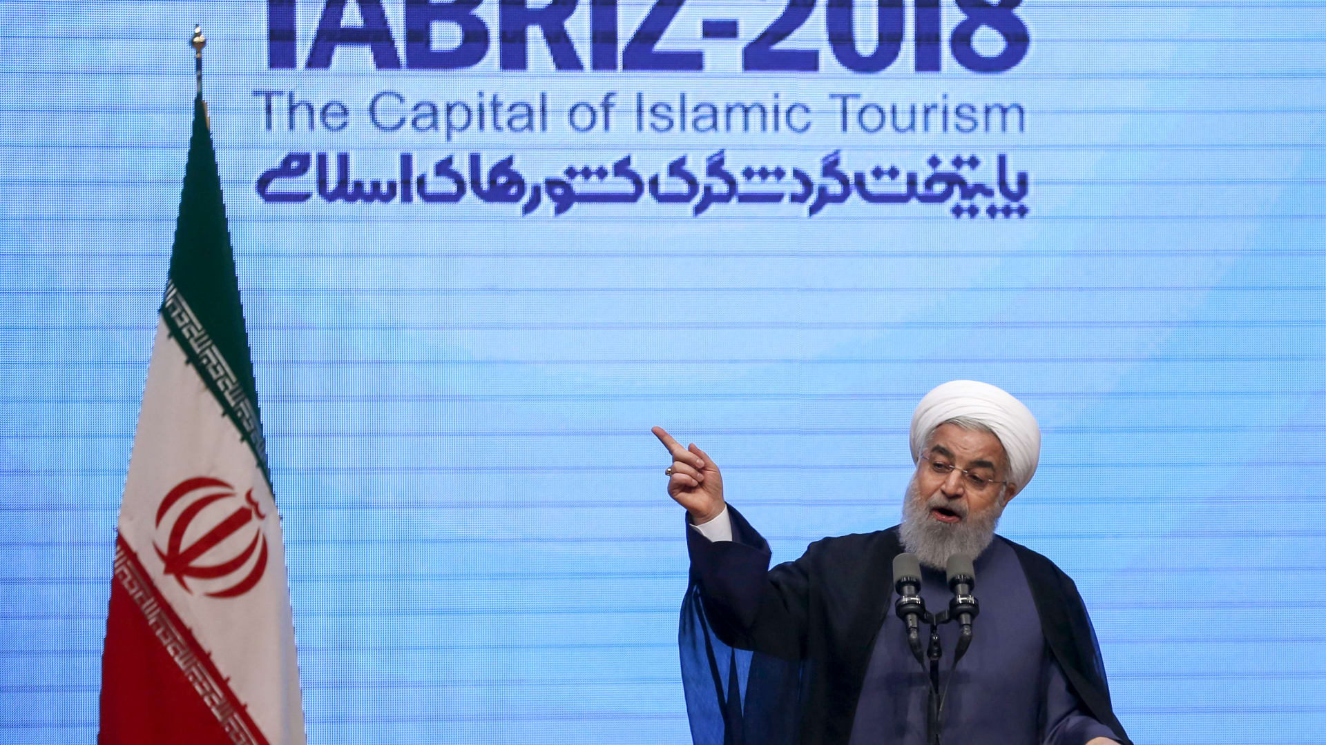 روحاني: سننتج ونخزن الأسلحة التي نحتاجها ولن نناقش ذلك مع أحد
