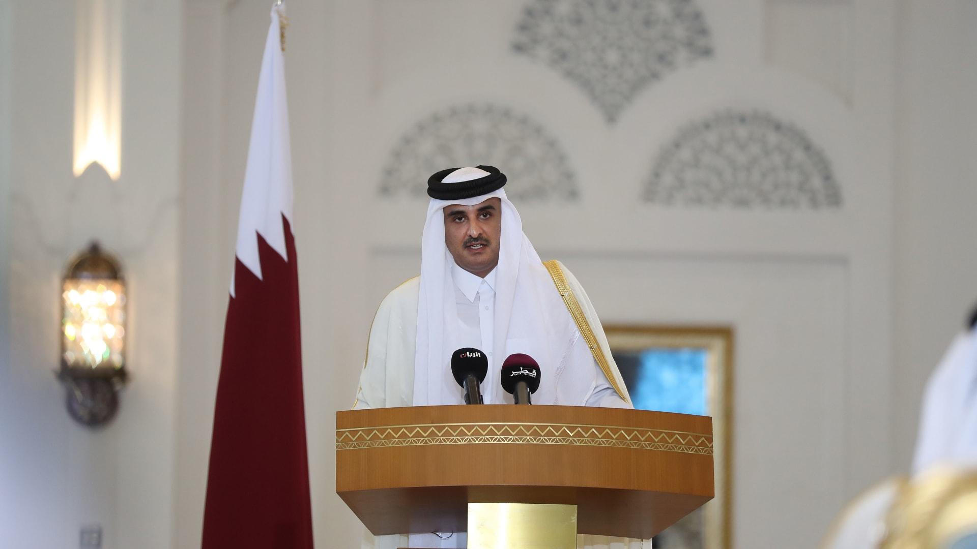 ترامب لأمير قطر: نتطلع لاجتماعاتنا لسنوات مقبلة وسنحل أزمة الخليج