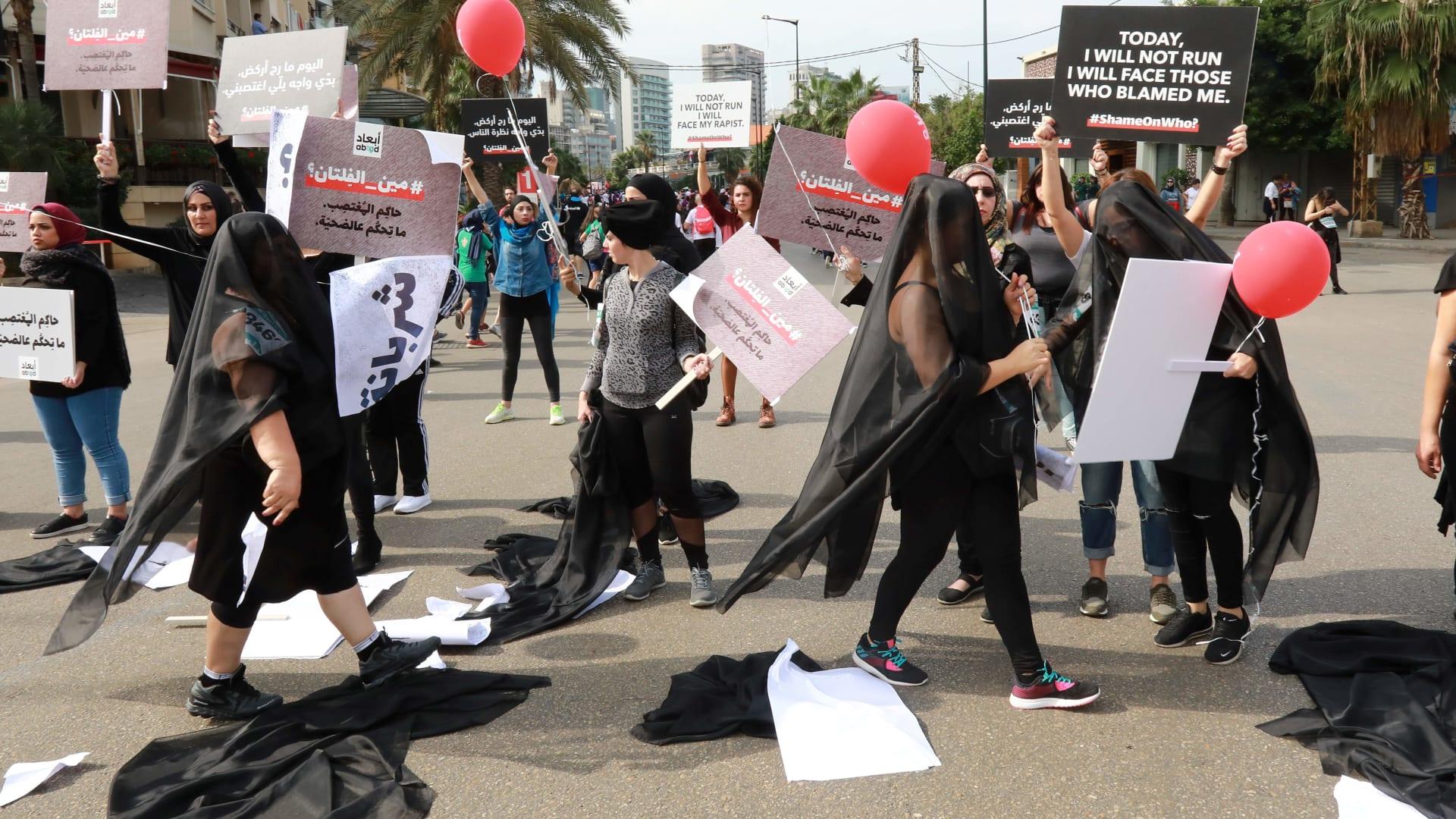 """امرأة تصرخ """"أُغتصبت"""" بشوارع بيروت.. ماذا كانت ردود الفعل؟"""
