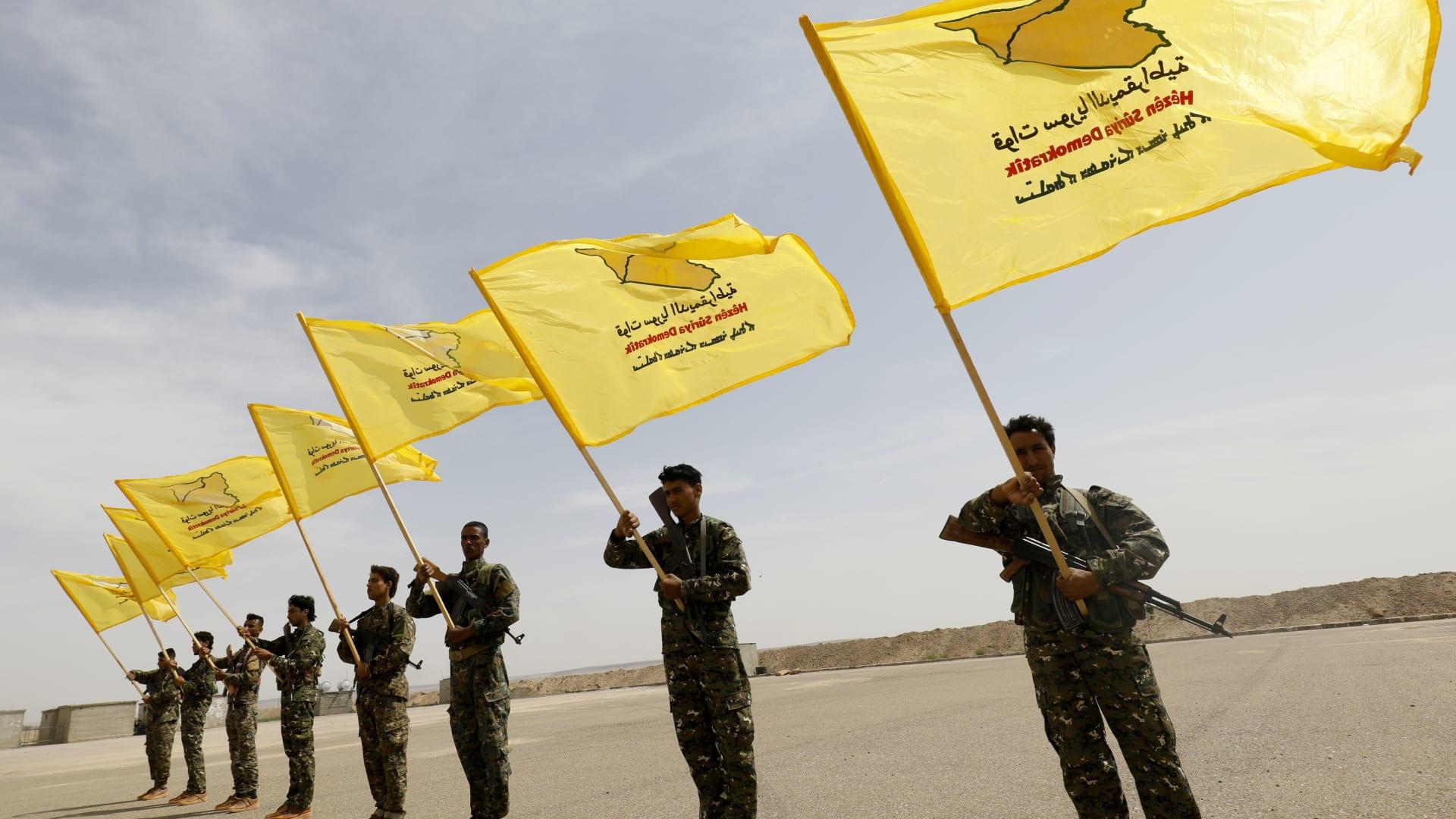 قوات سوريا الديمقراطية تعلن تحرير الرقة رسمياً