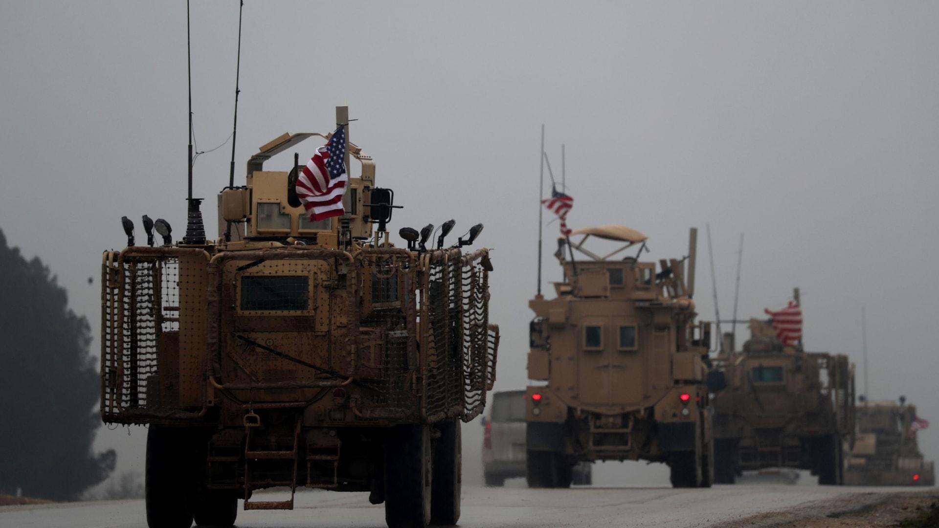 مشاهد حصرية للقاعدة الأمريكية الجديدة في منبج