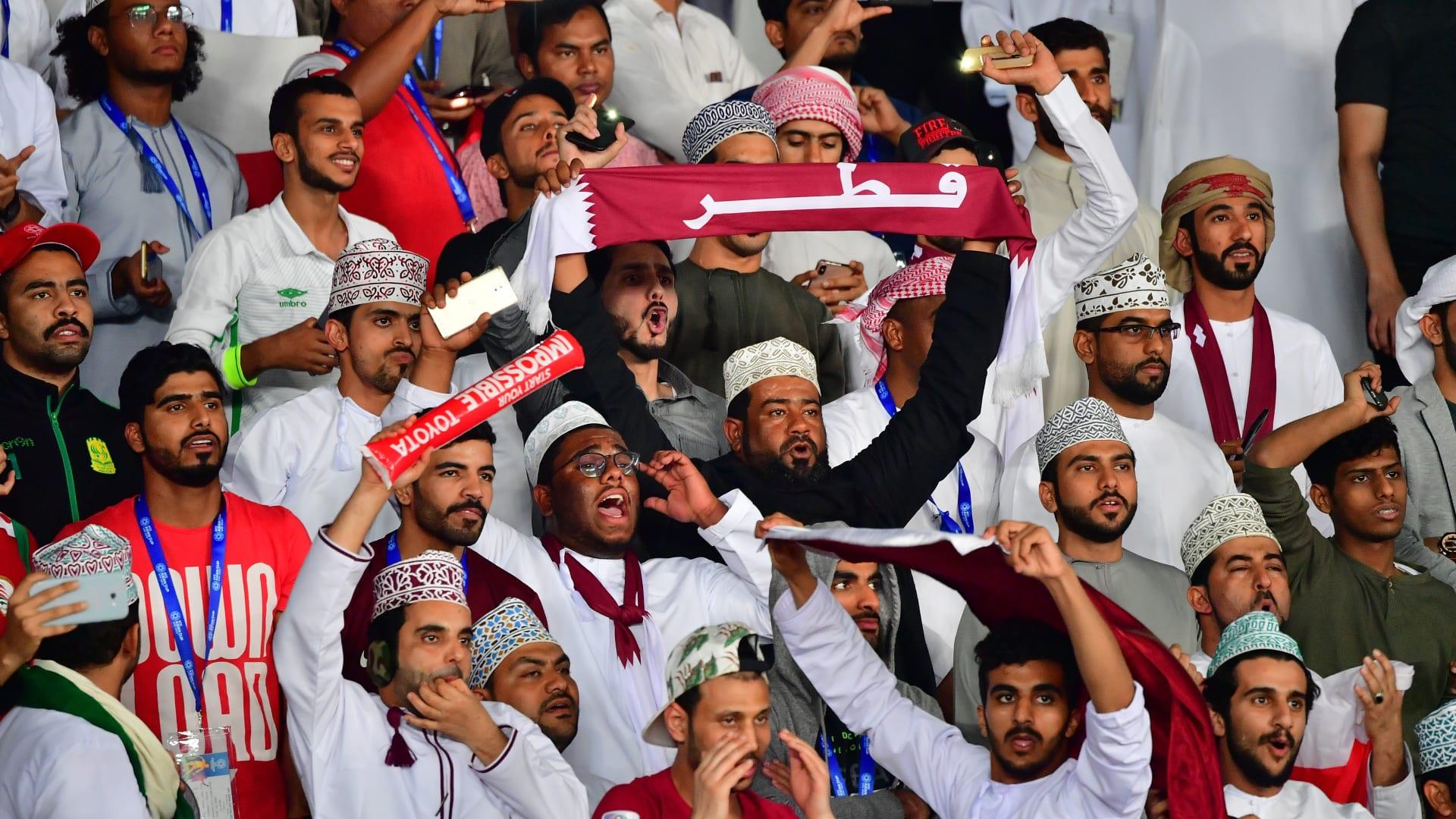 هكذا احتفل القطريون بفوز منتخبهم ببطولة آسيا للمرة الأولى