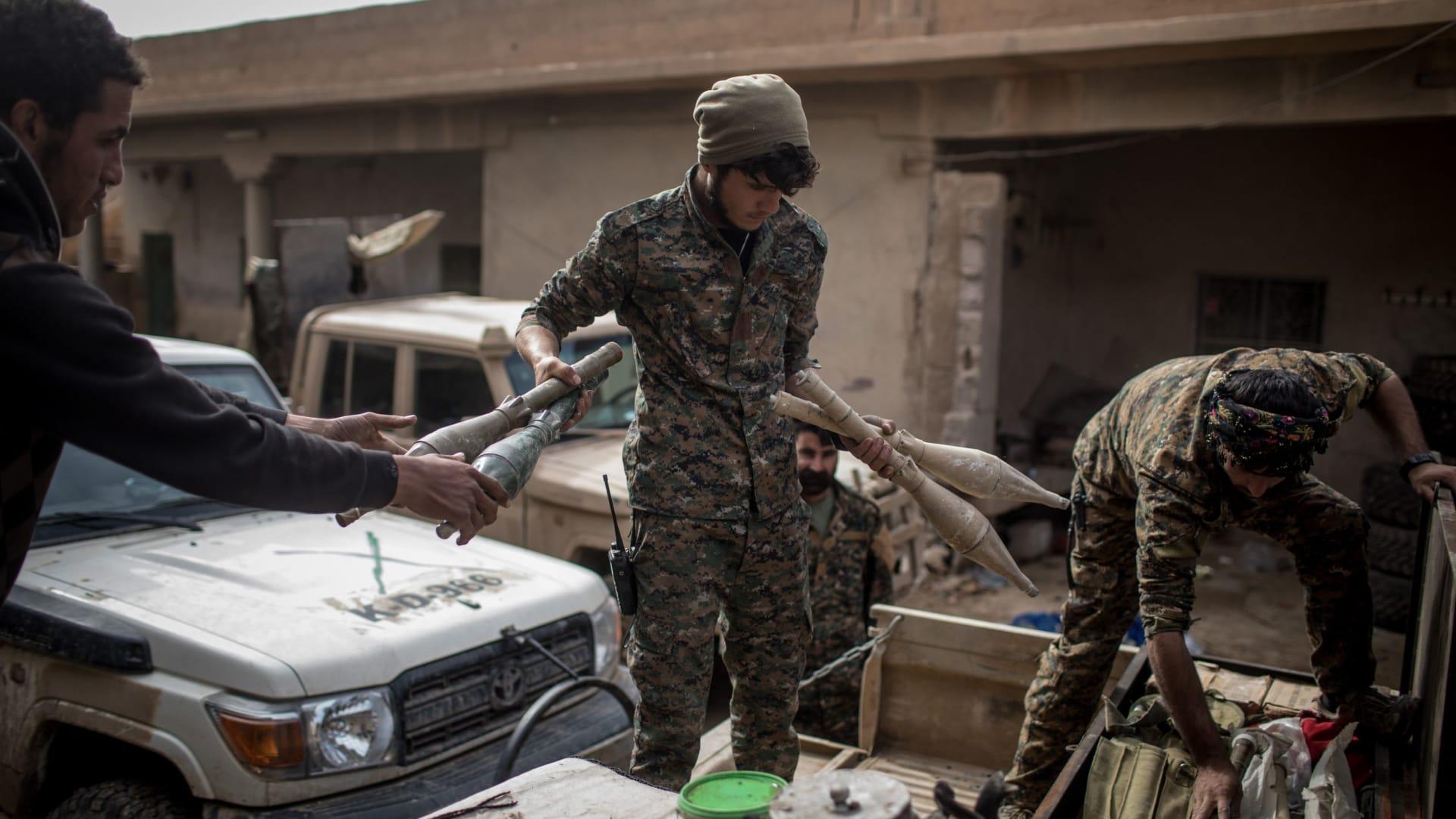 تقليص المناطق التي يسيطر عليها داعش بسوريا إلى 700 متر مربع