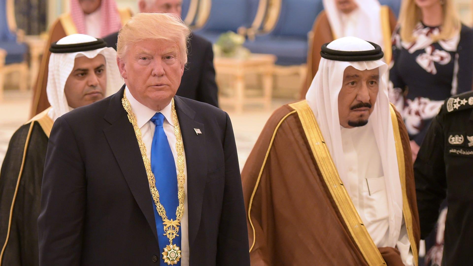 ترامب: قلت لملك السعودية قد لا تتمكنون من البقاء بدوننا