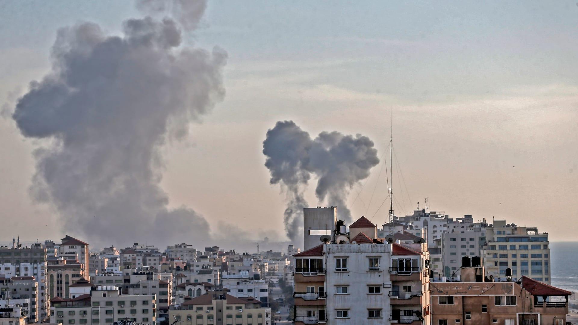 مقتل طفلة رضيعة في غارة جوية إسرائيلية على غزة