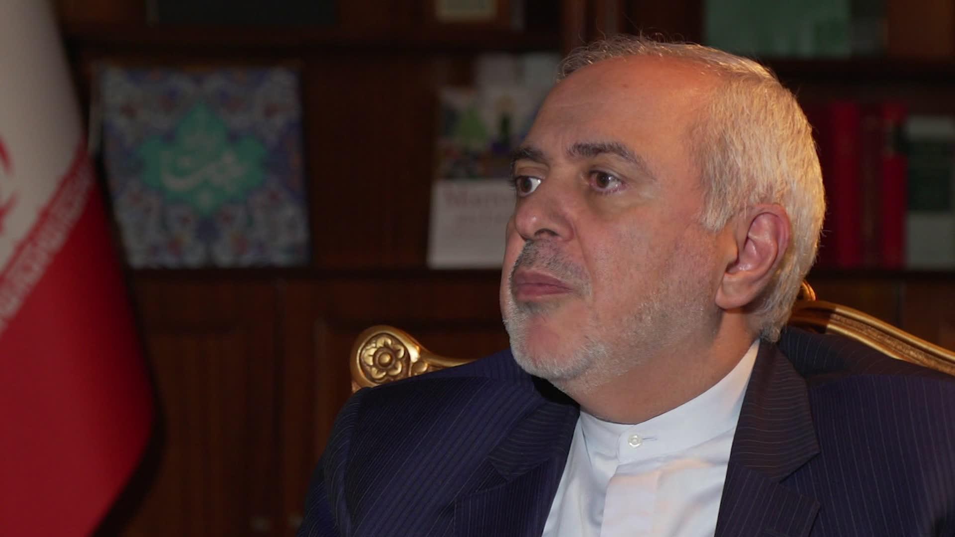 """ظريف لـCNN: إيران لن تتفاوض مع أمريكا حتى تظهر """"احترام"""" طهران"""