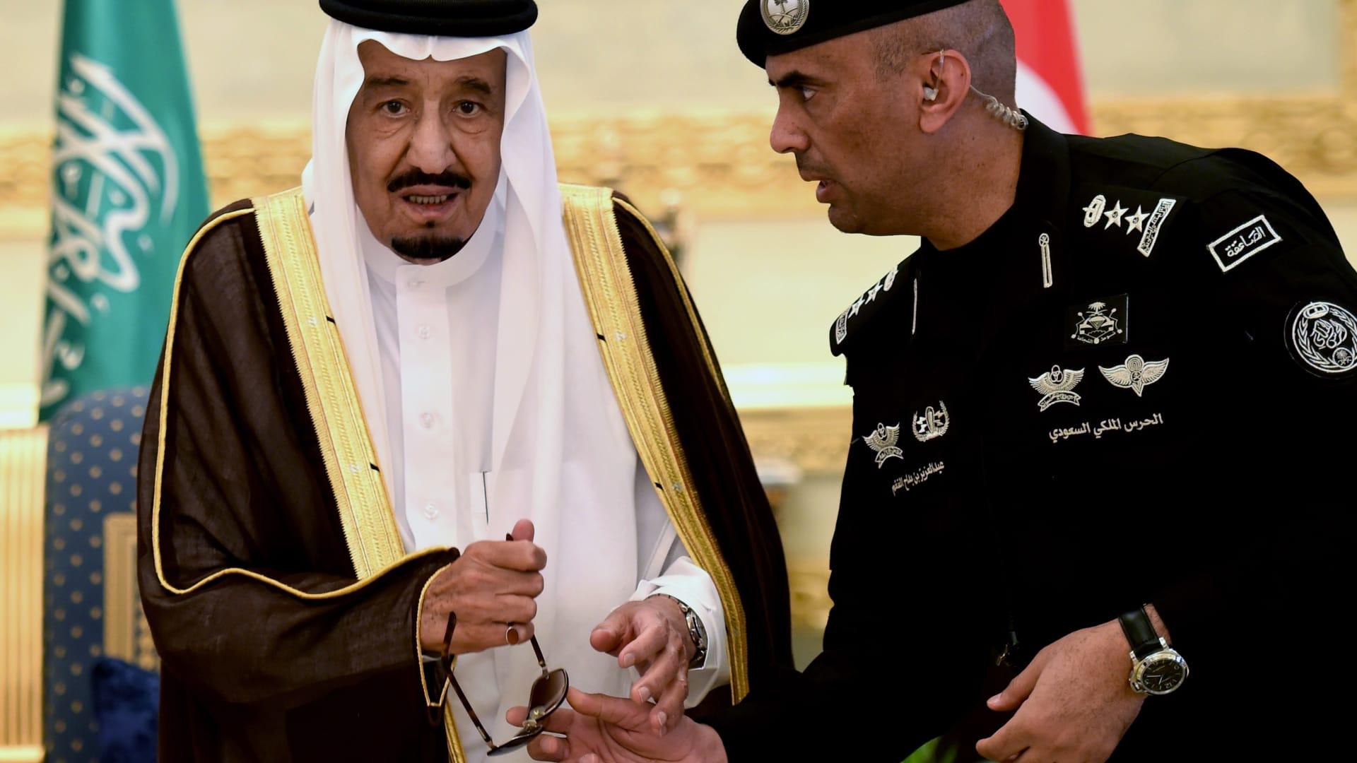 شاهد مراسم تشييع جثمان عبدالعزيز الفغم حارس الملك سلمان