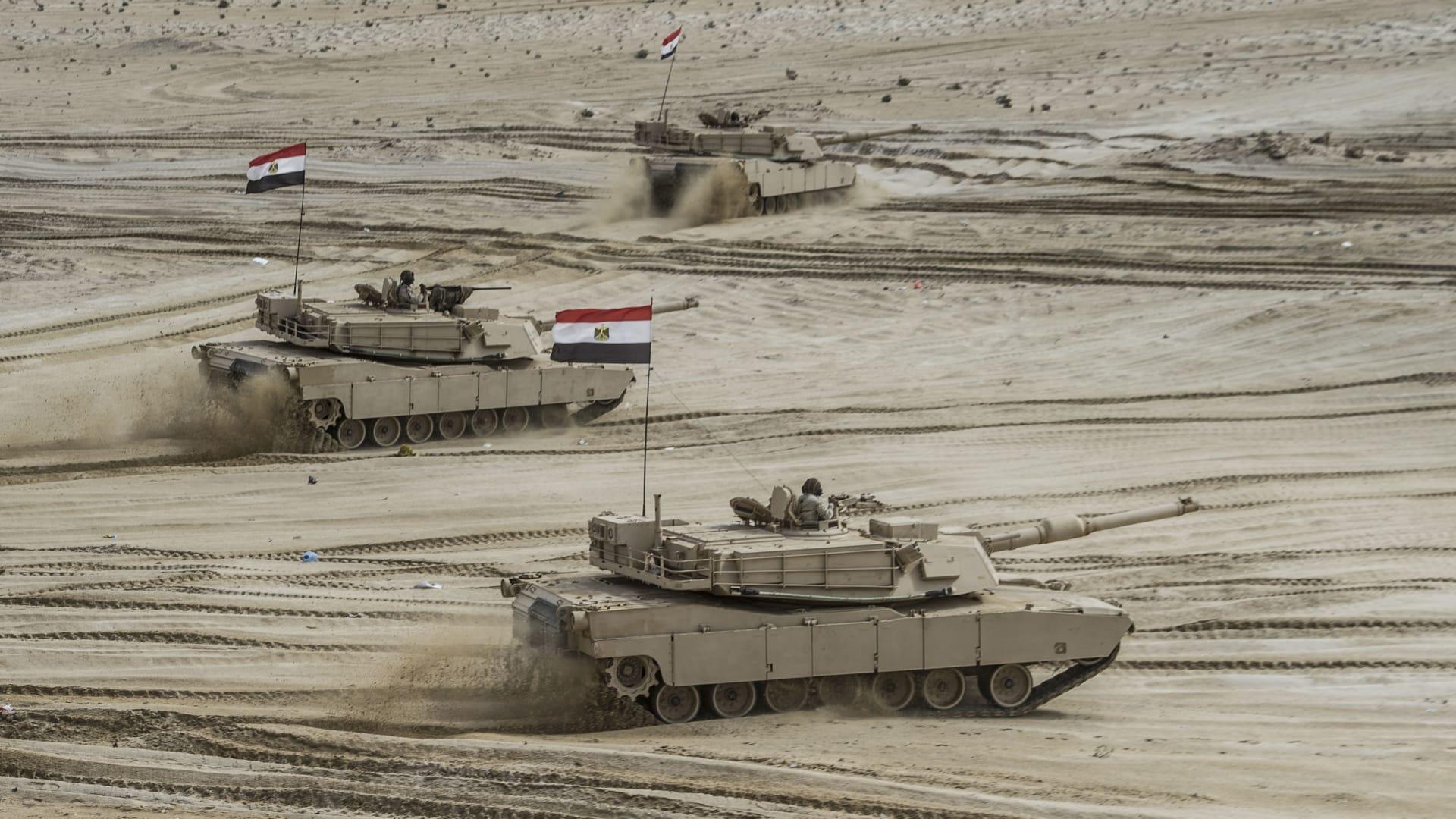 مقارنة بين قدرات الجيش المصري ونظيره الإثيوبي