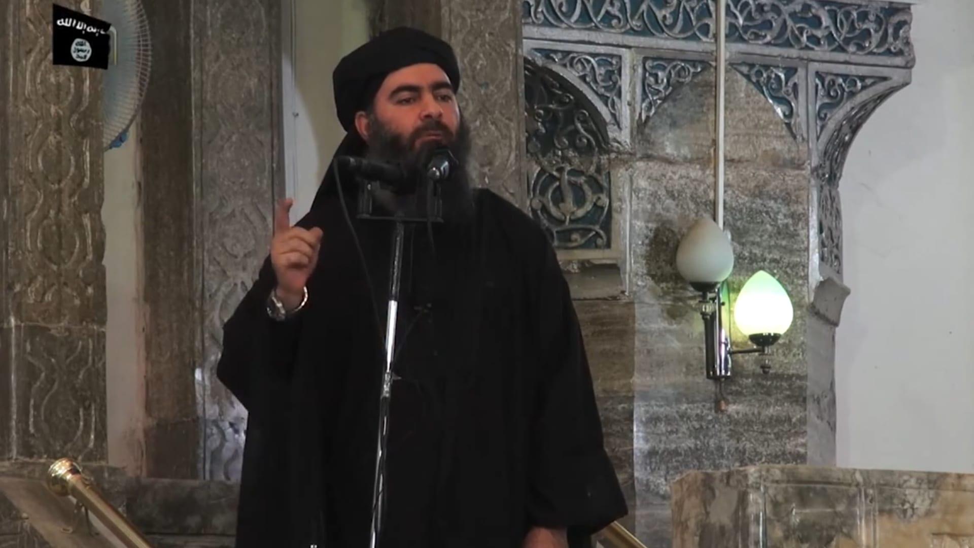 مقتل البغدادي.. فيديو جديد لآثار عملية استهداف زعيم داعش