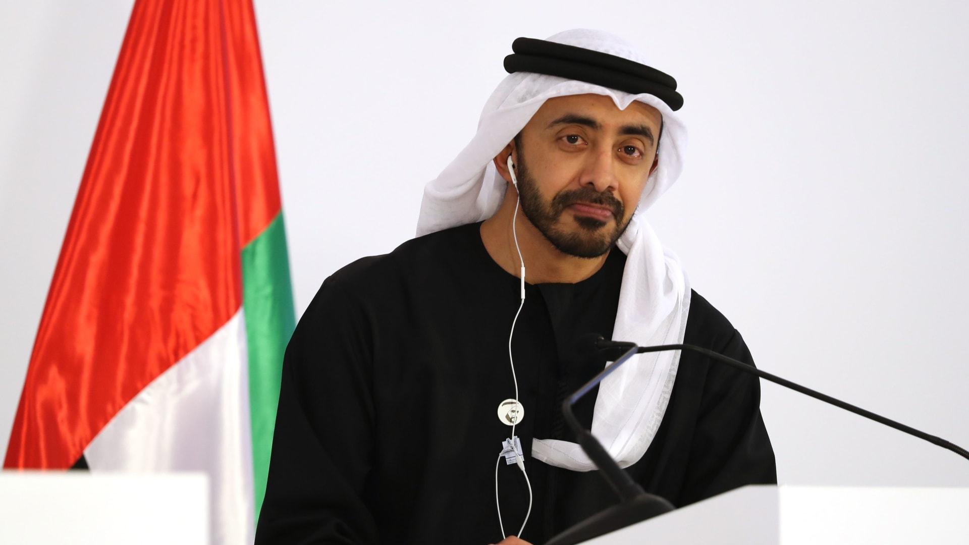 عبدالله بن زايد لـCNN: هكذا تحارب الإمارات التطرّف بالفن